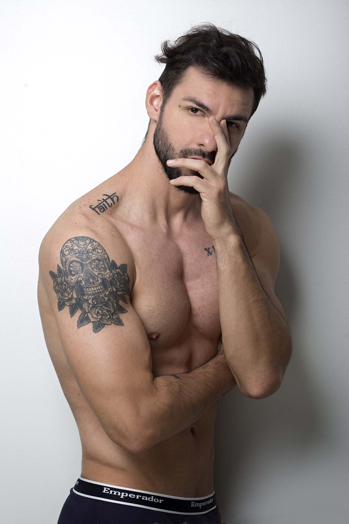 Victor Dos Santos by Ronaldo Gutierrez for Brazilian Male Model