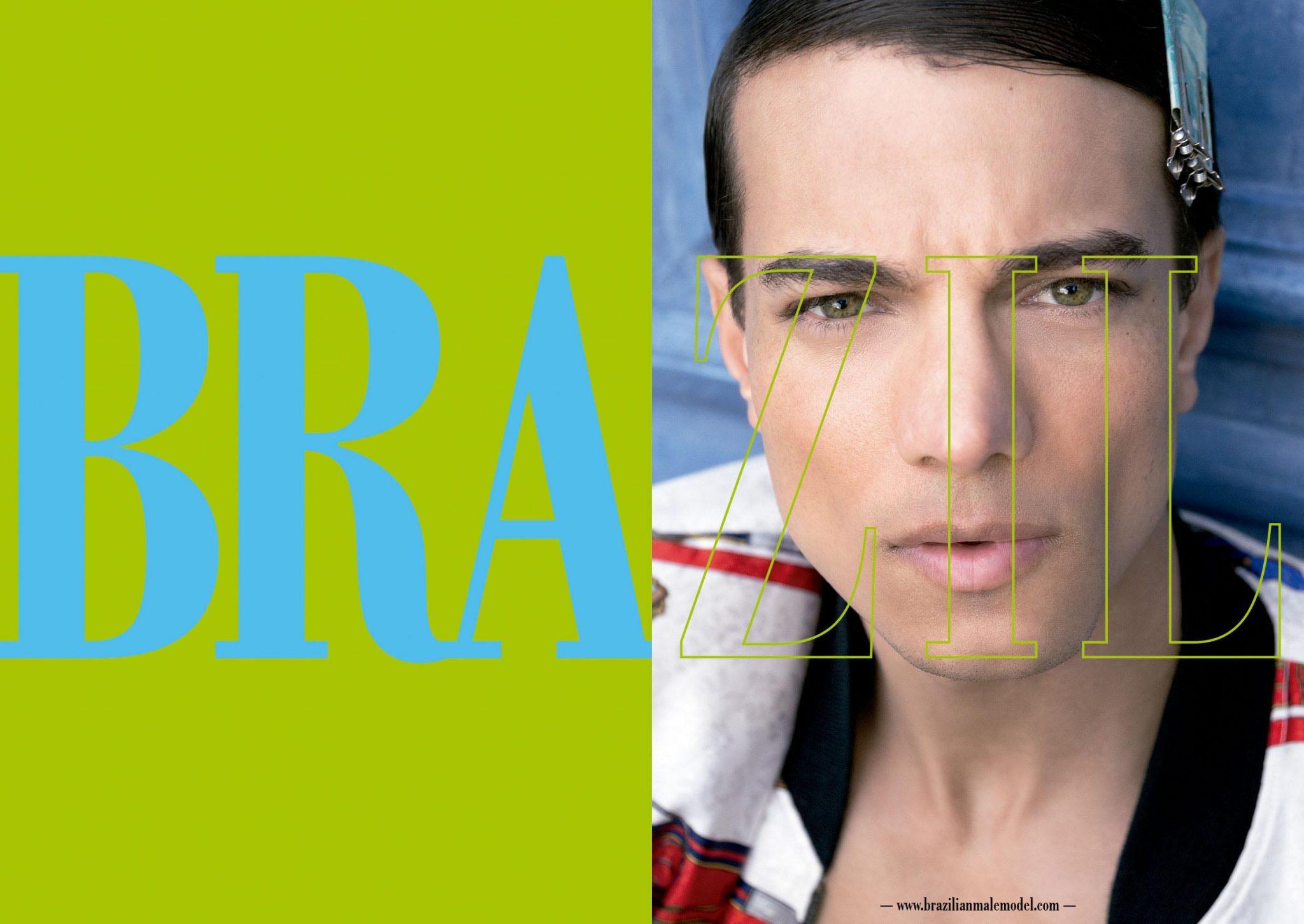 The Cover Boy Sulevan Araujo by Filipe Galgani - Brazilian Male Model Magazine