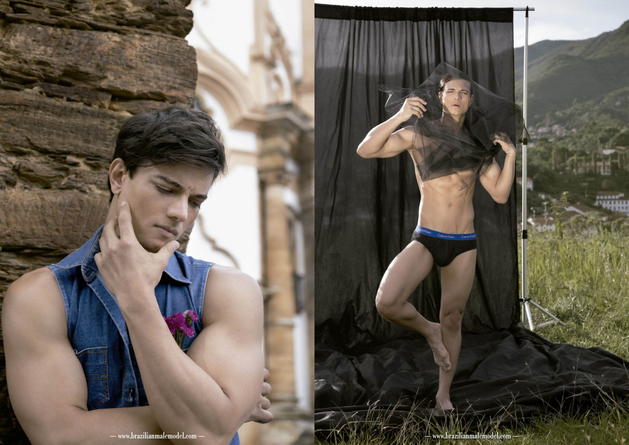 The Cover Boy Sulevan Araujo by Filipe Galgani - Brazilian Male Model Magazine