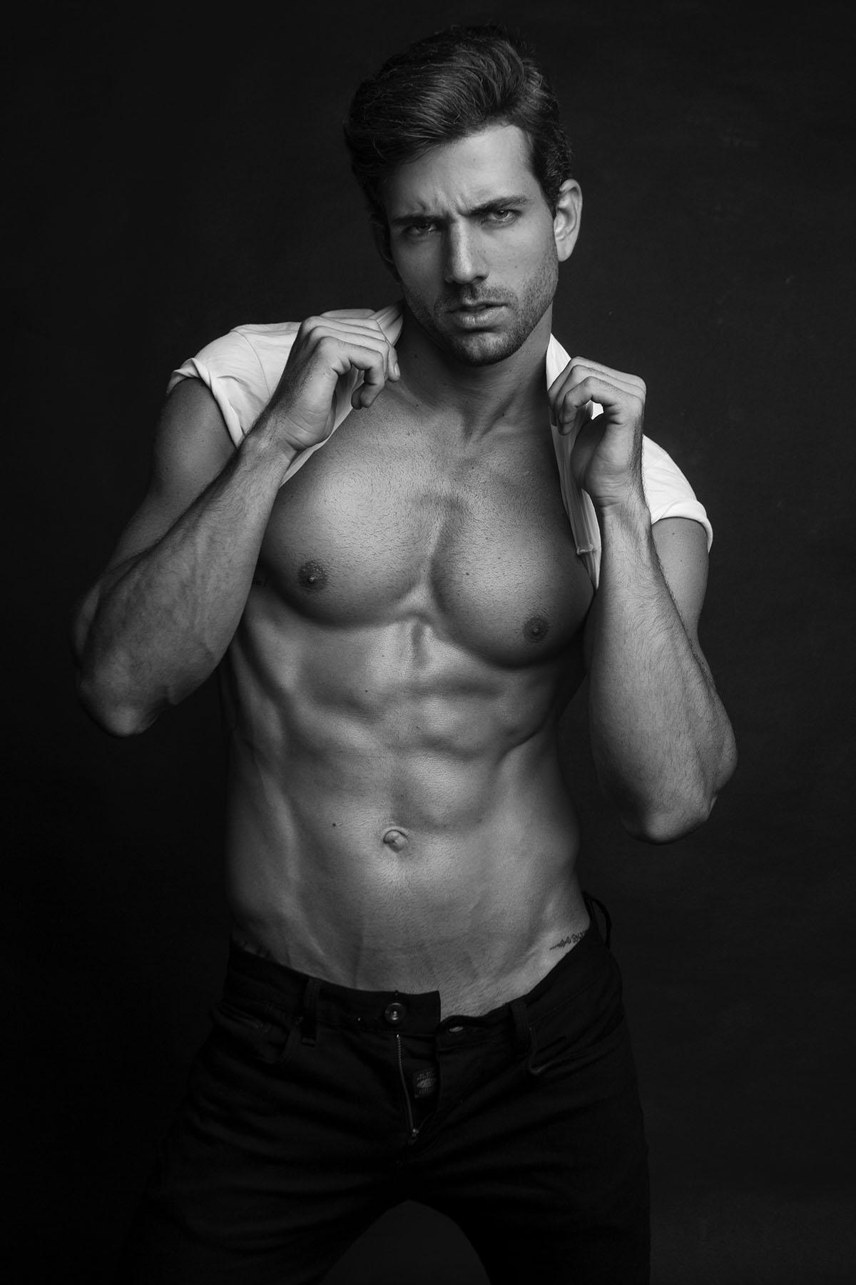 Hugo Tenório by Sand Lang for Brazilian Male Model