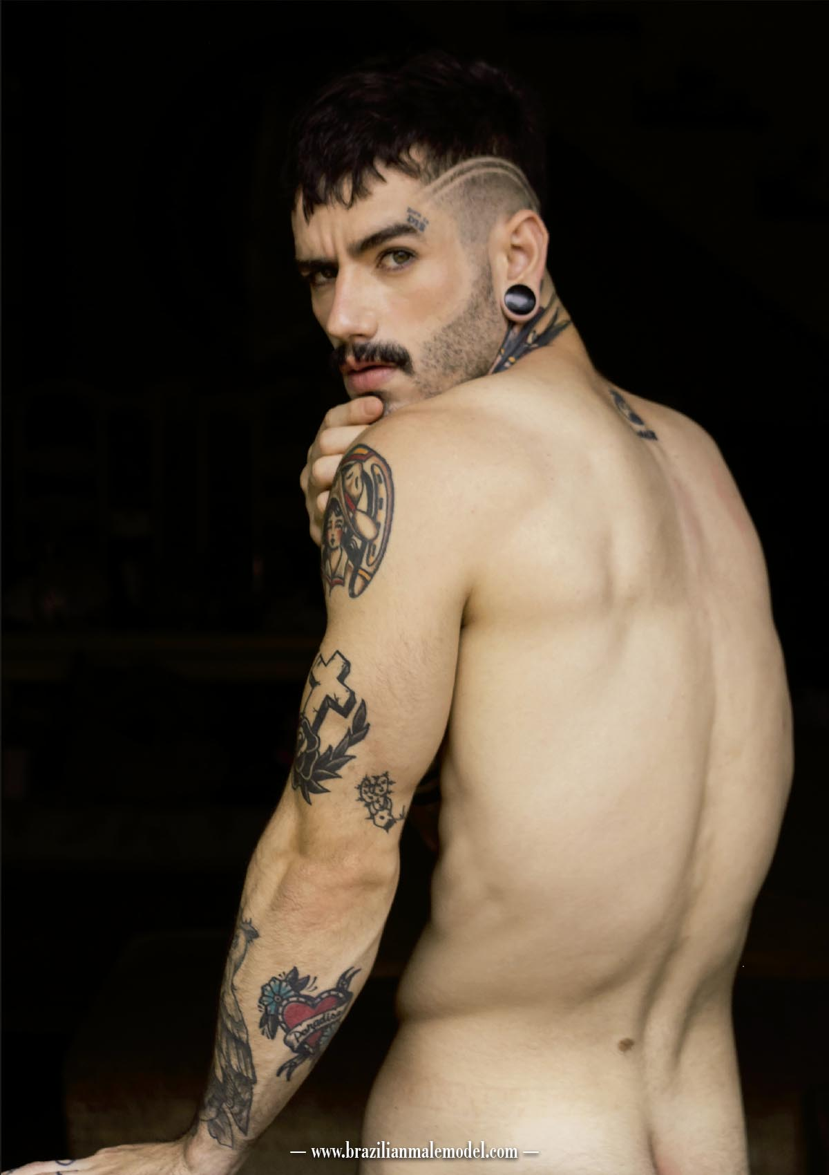 Carz Fill by Vinicius Costa for Brazilian Male Model Magazine #2