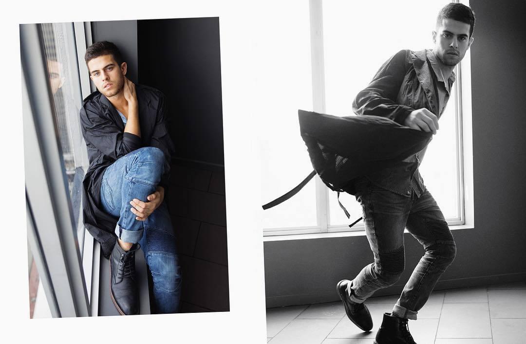 Andre Brunelli by Alex Jackson for Brazilian Male Model