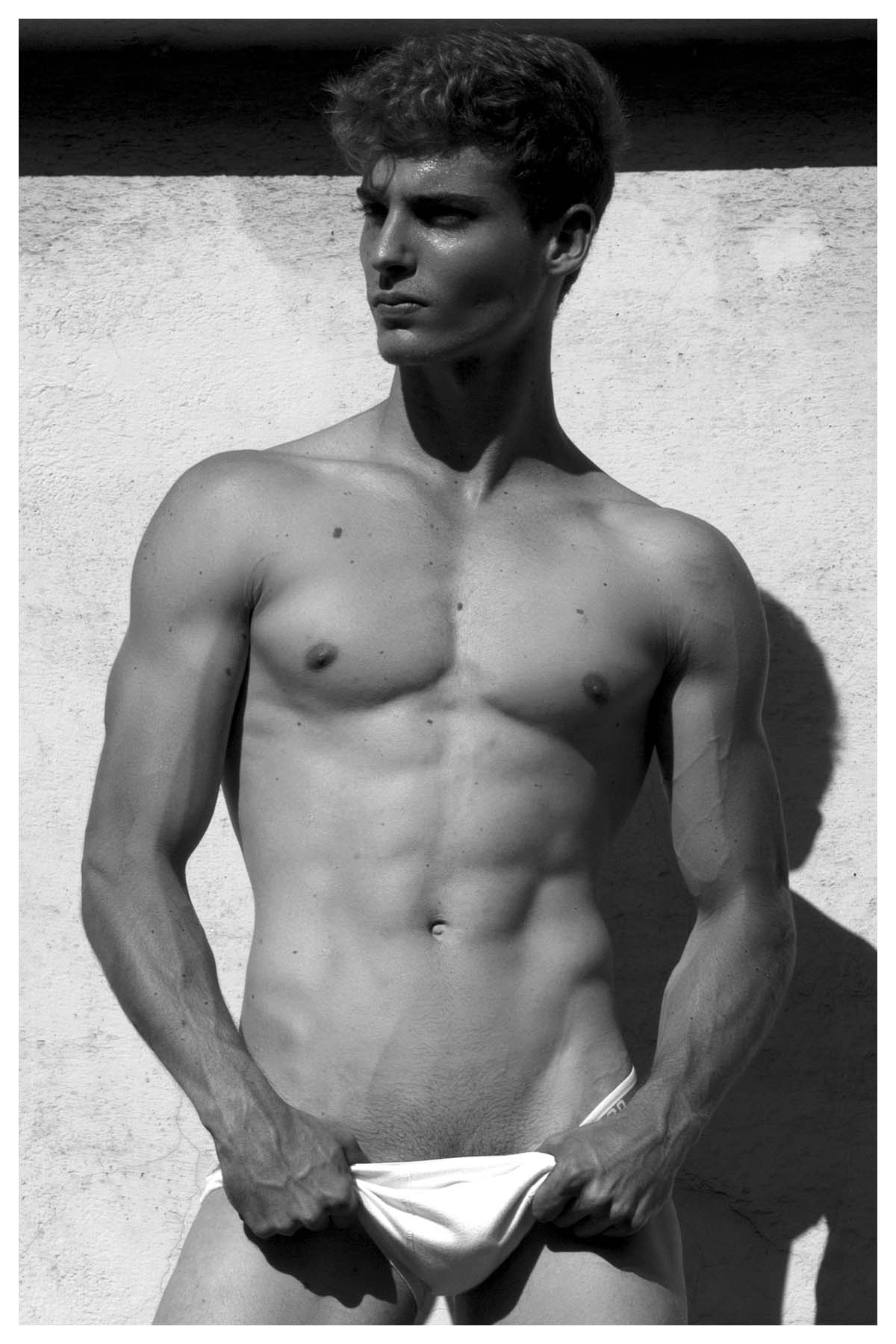 Angelo Giacomini by Domhnall for Brazilian Male Model