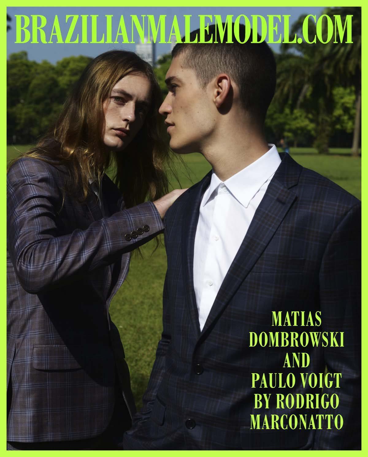 Matias Dombrowki and Paulo Voigt by Rodrigo Marconatto