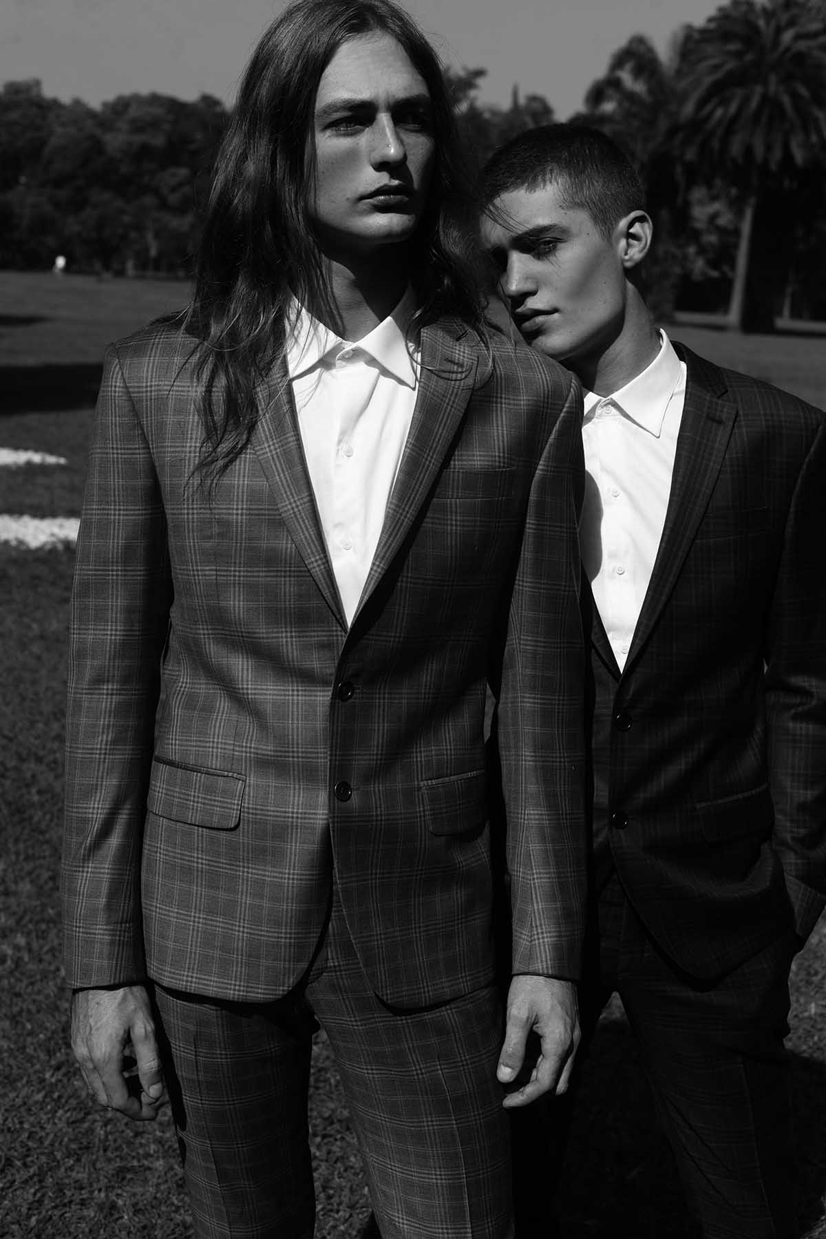 Matias Dombrowki and Paulo Voigt by Rodrigo Marconatto for Brazilian Male Model