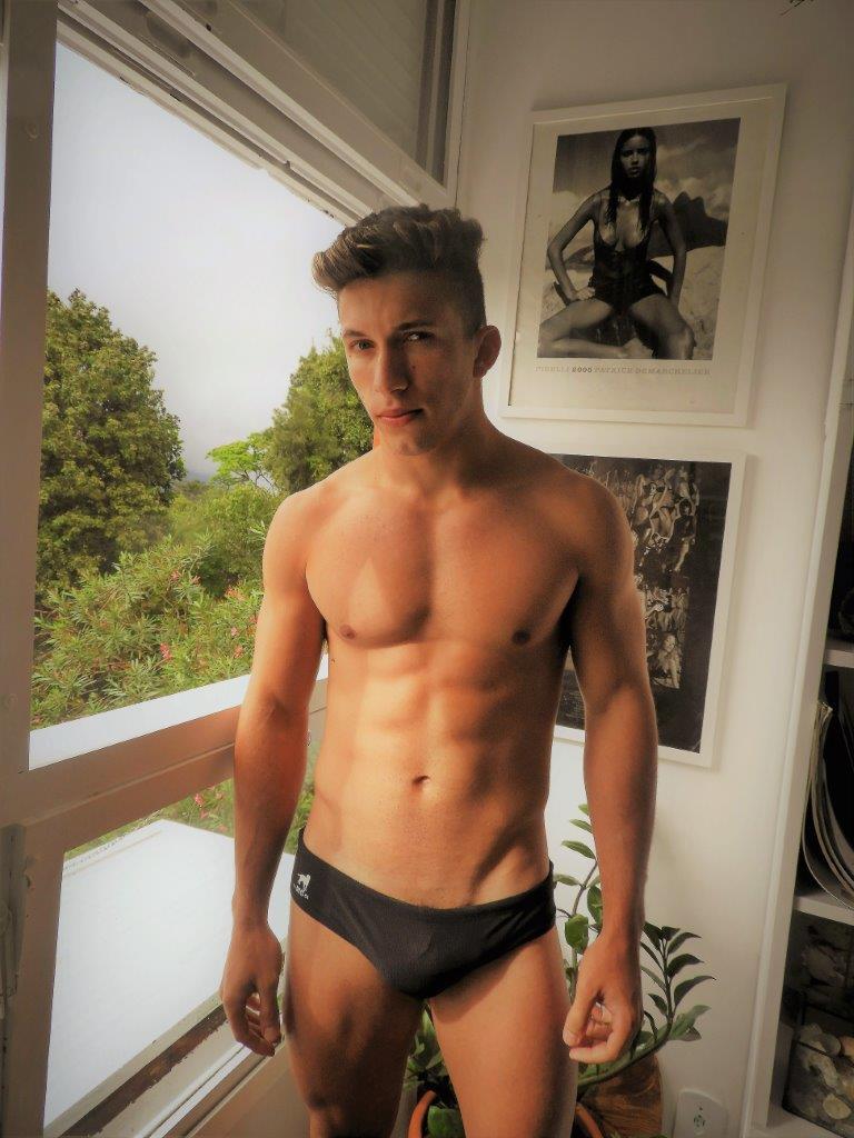 Phelipe Gomes by Sergio Mattos for Brazilian Male Model