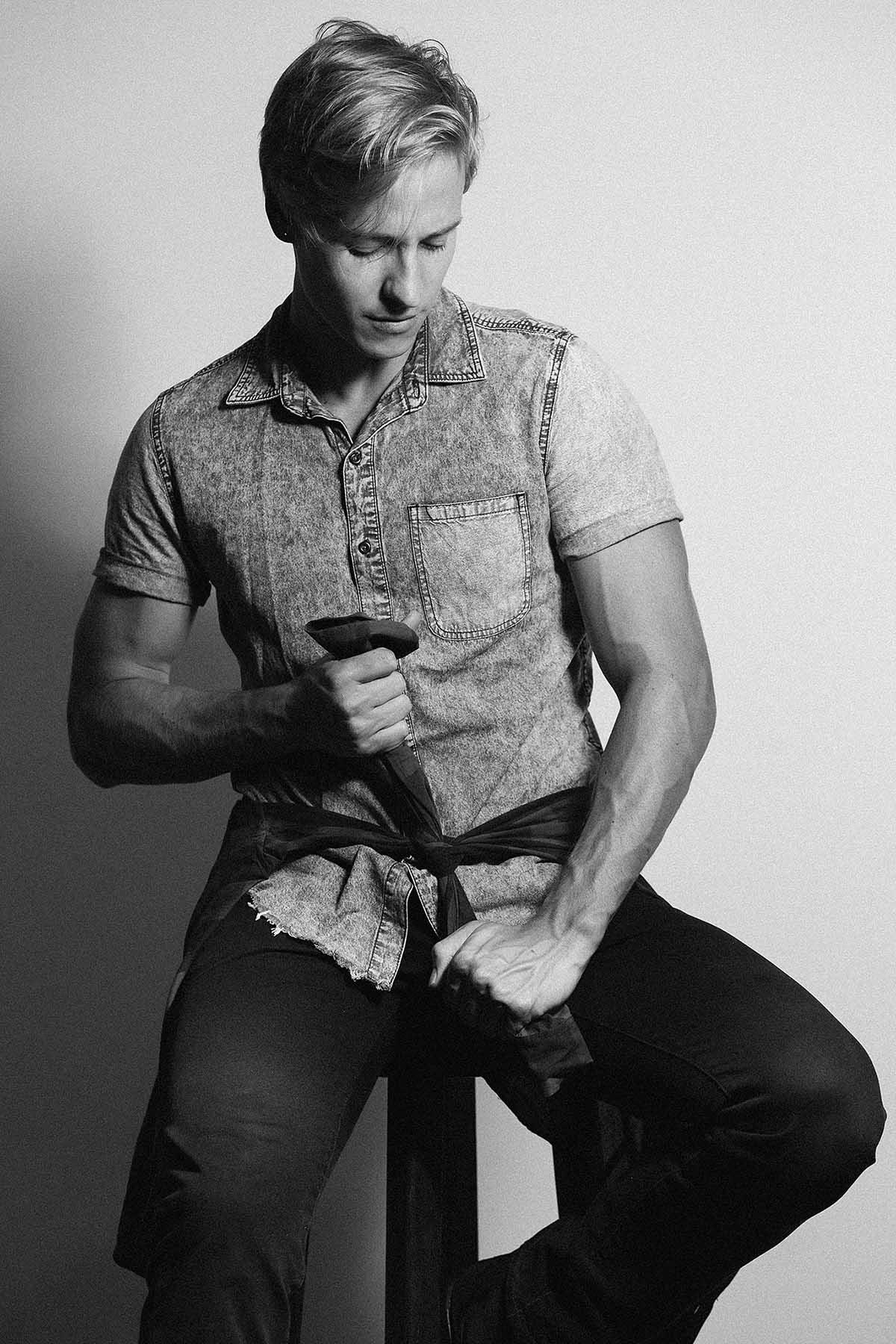 Tiago Faria by Danilo Friedl for Brazilian Male Model