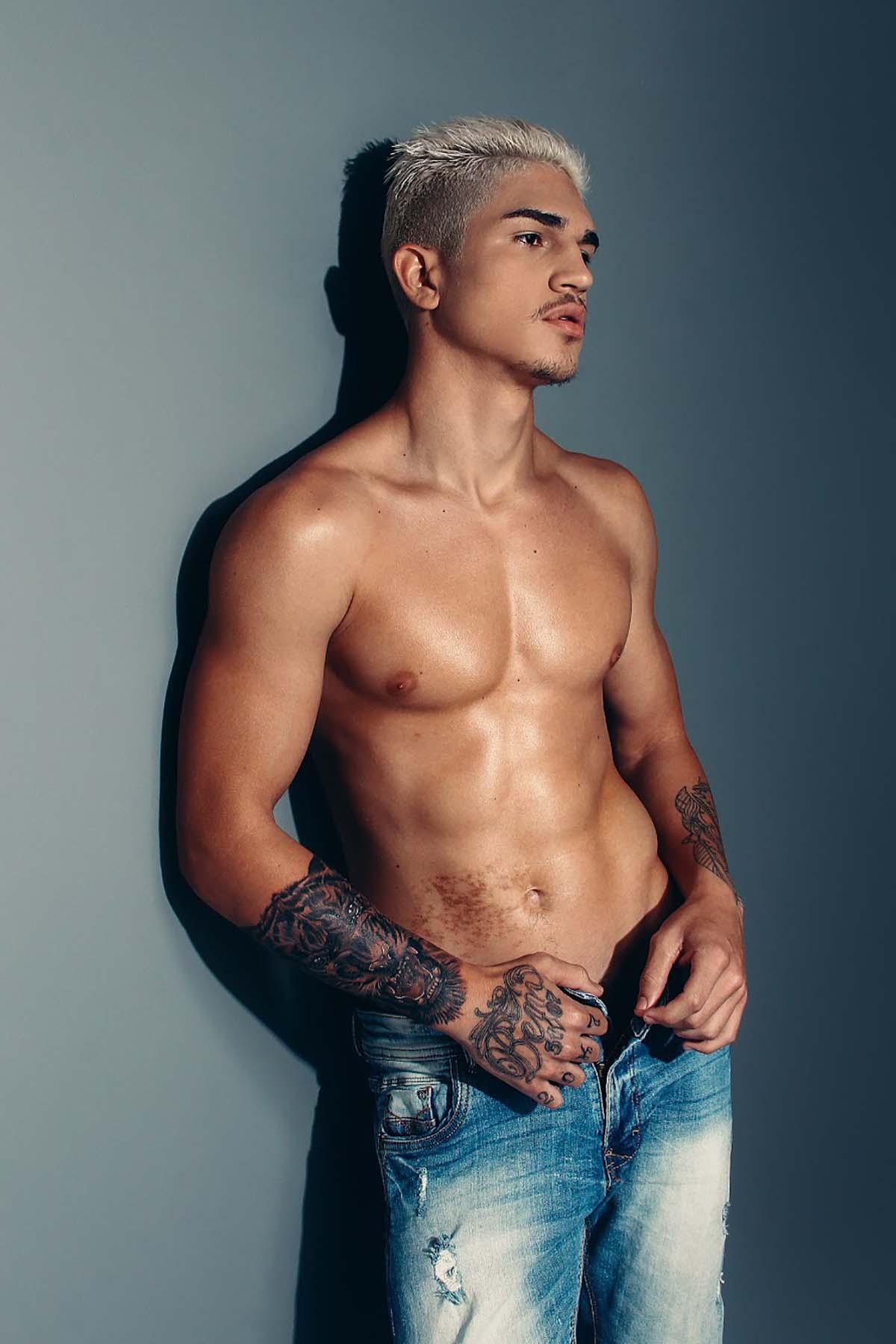 Rafael Castro by Jefferson Balbino for Brazilian Male Model