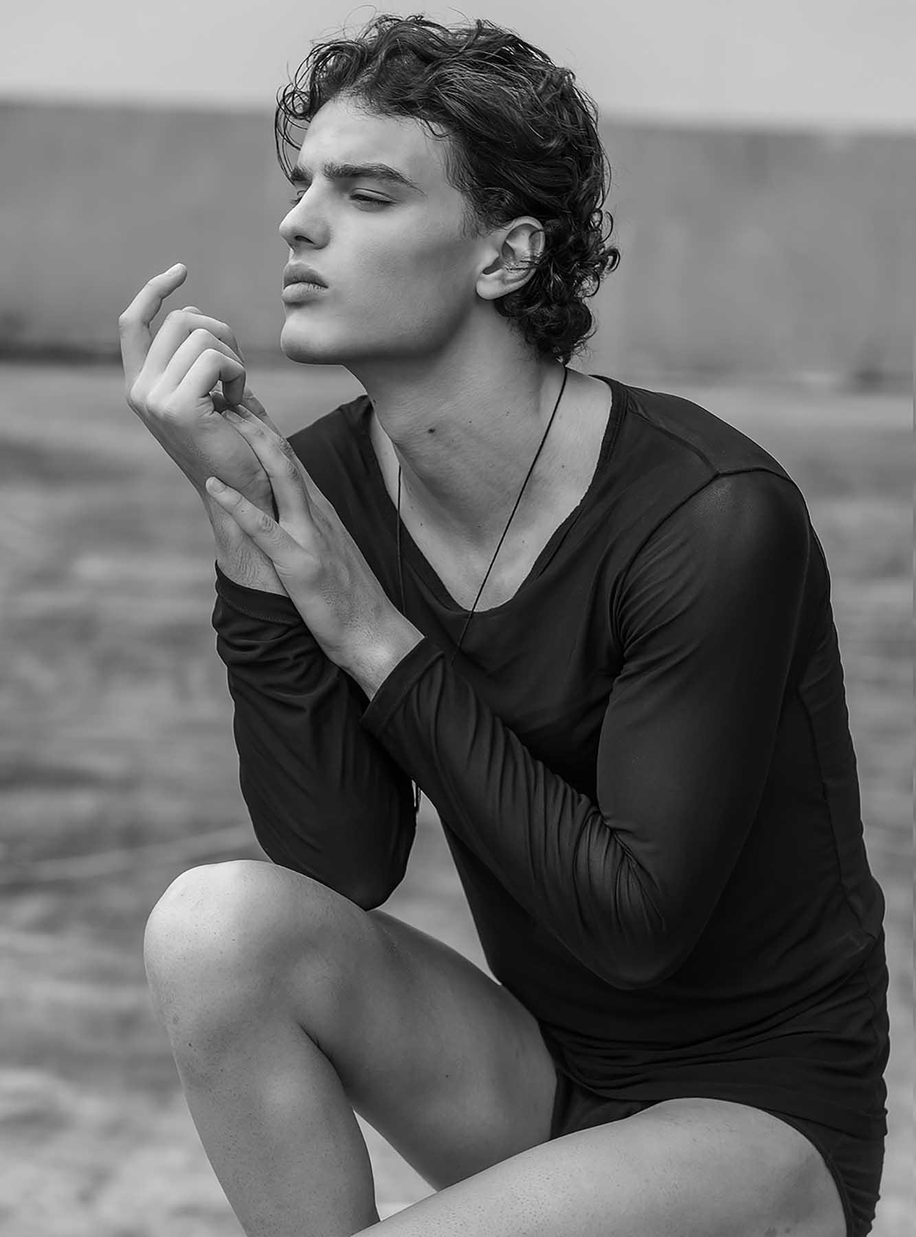 Nicholas Mamedia by Jason Oung for Brazilian Male Model