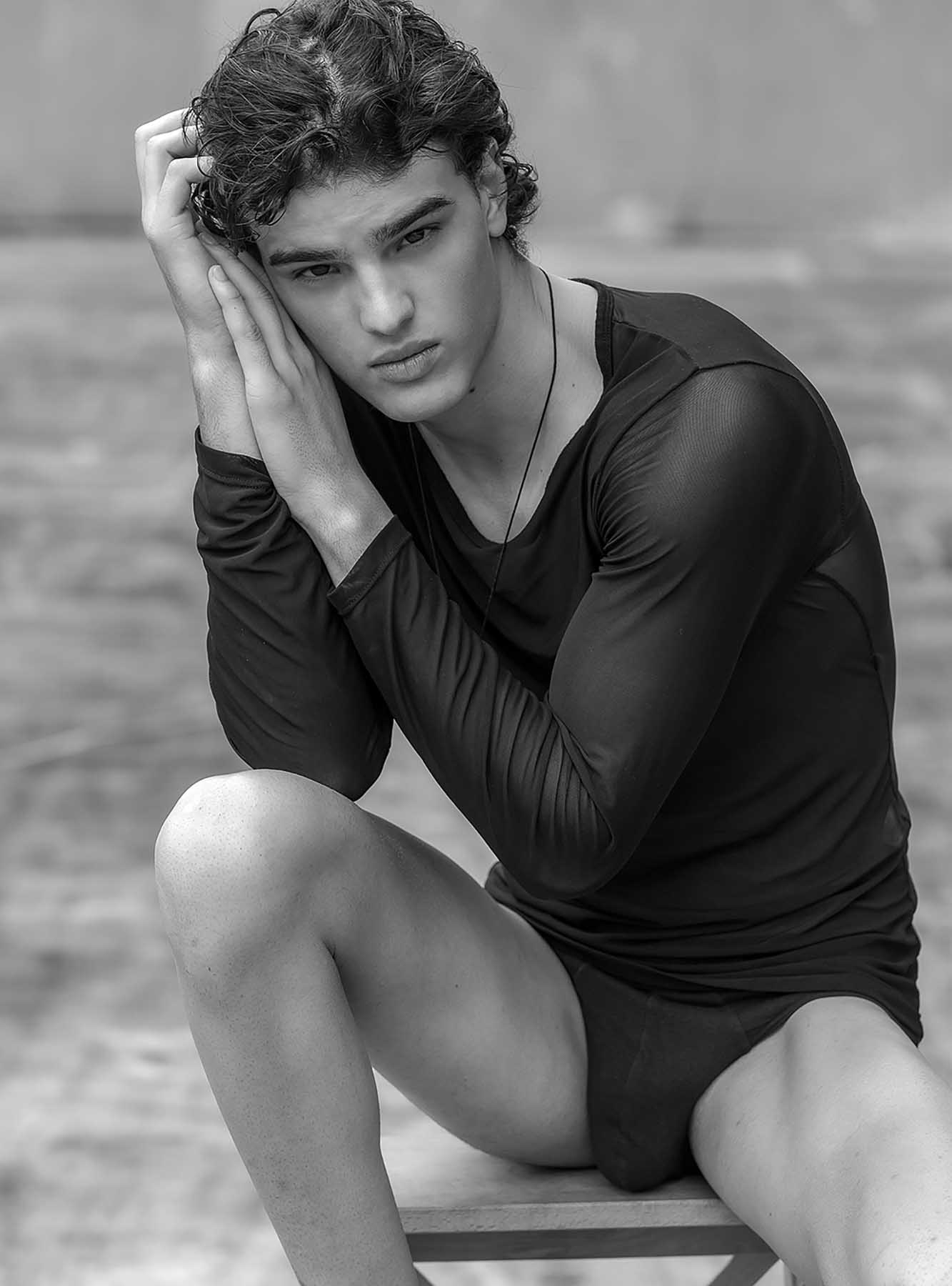 Nicholas Mamedia by Jason Oung for Brazilian Male Model