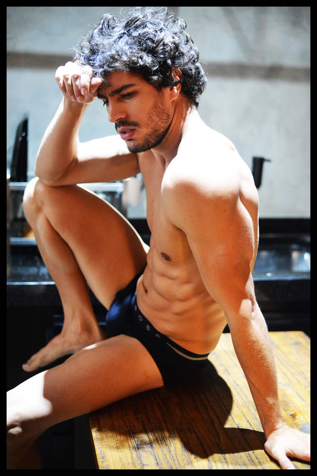 Dego Ferreira by Rodrigo Marconatto for Brazilian Male Model