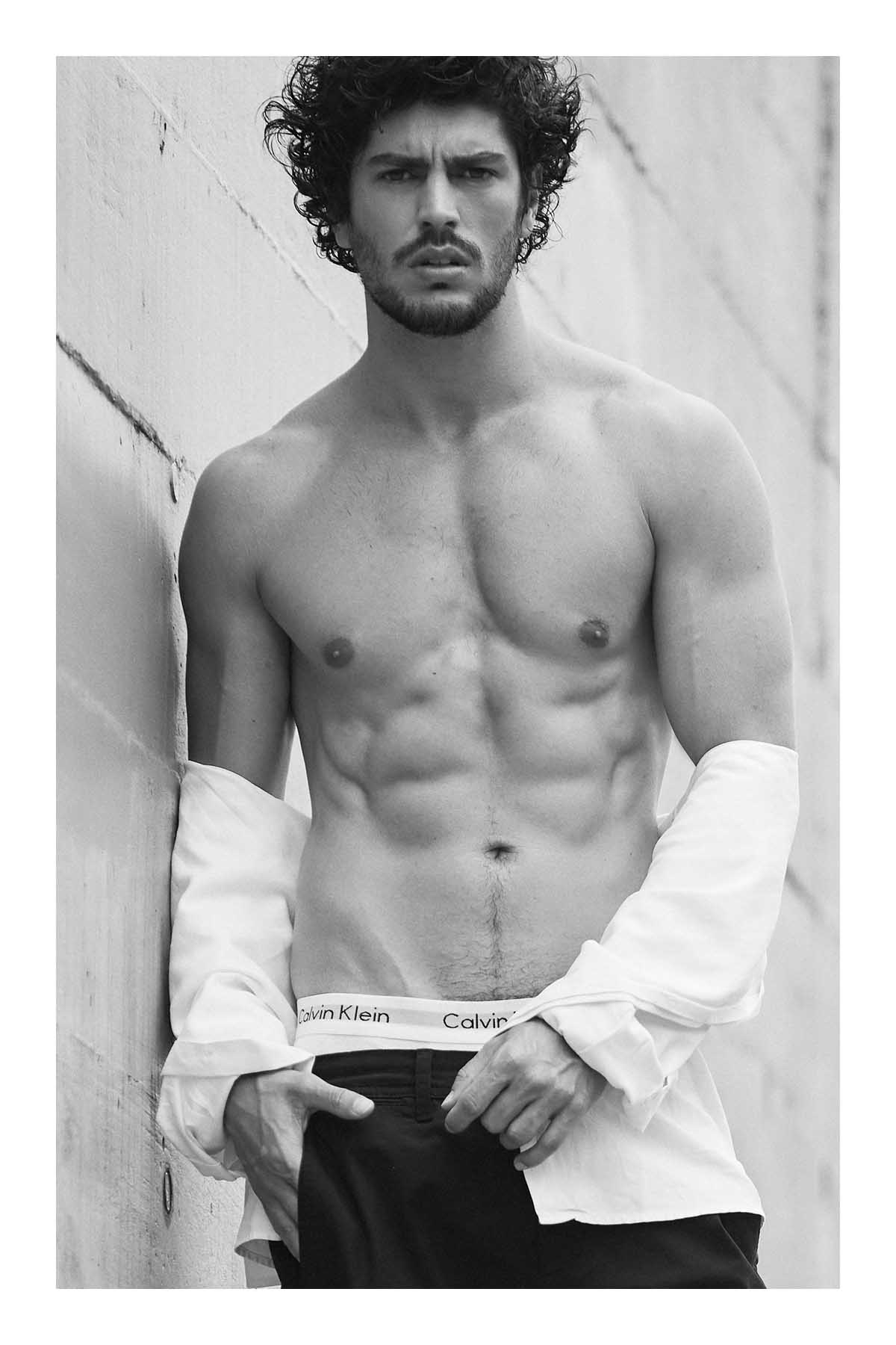 Dego Ferreira by Sergio Bochert for Brazilian Male Model