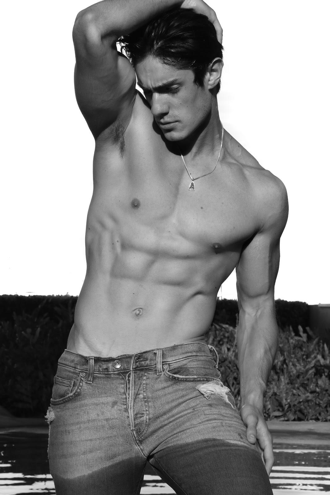 Luis Alberto Montero by Daniel Benjamin for Brazilian Male Model