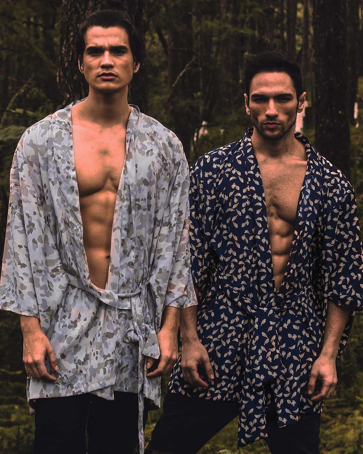 Ivo Cavalcanti and Hans Weiser by Jay Mar for Brazilian Male Model