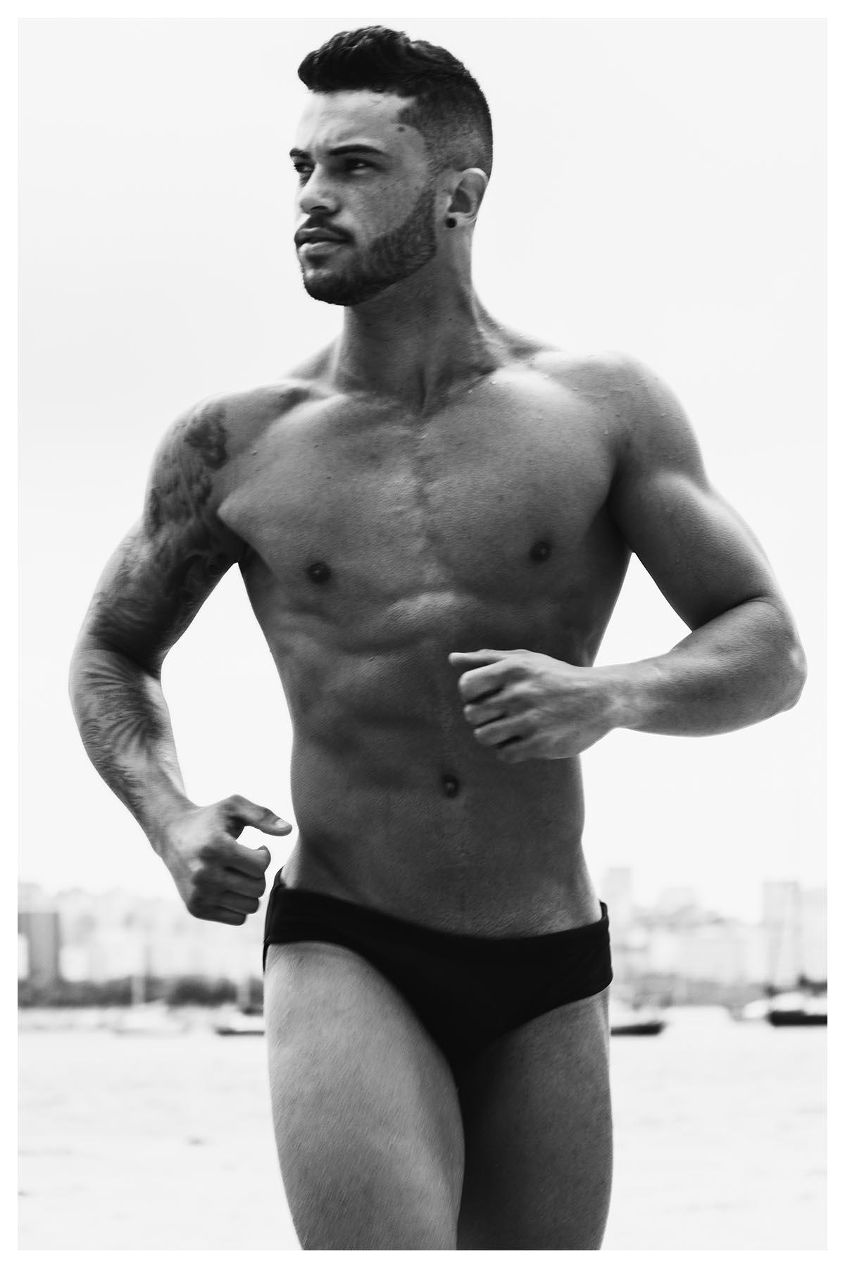 Douglas Candido by Olavo Martins for Brazilian Male Model