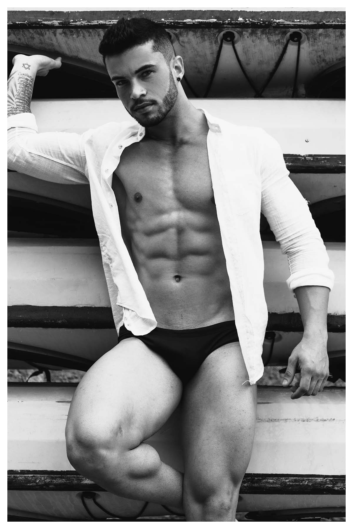 Douglas Candido by Olavo Martins for Brazilian Male Model