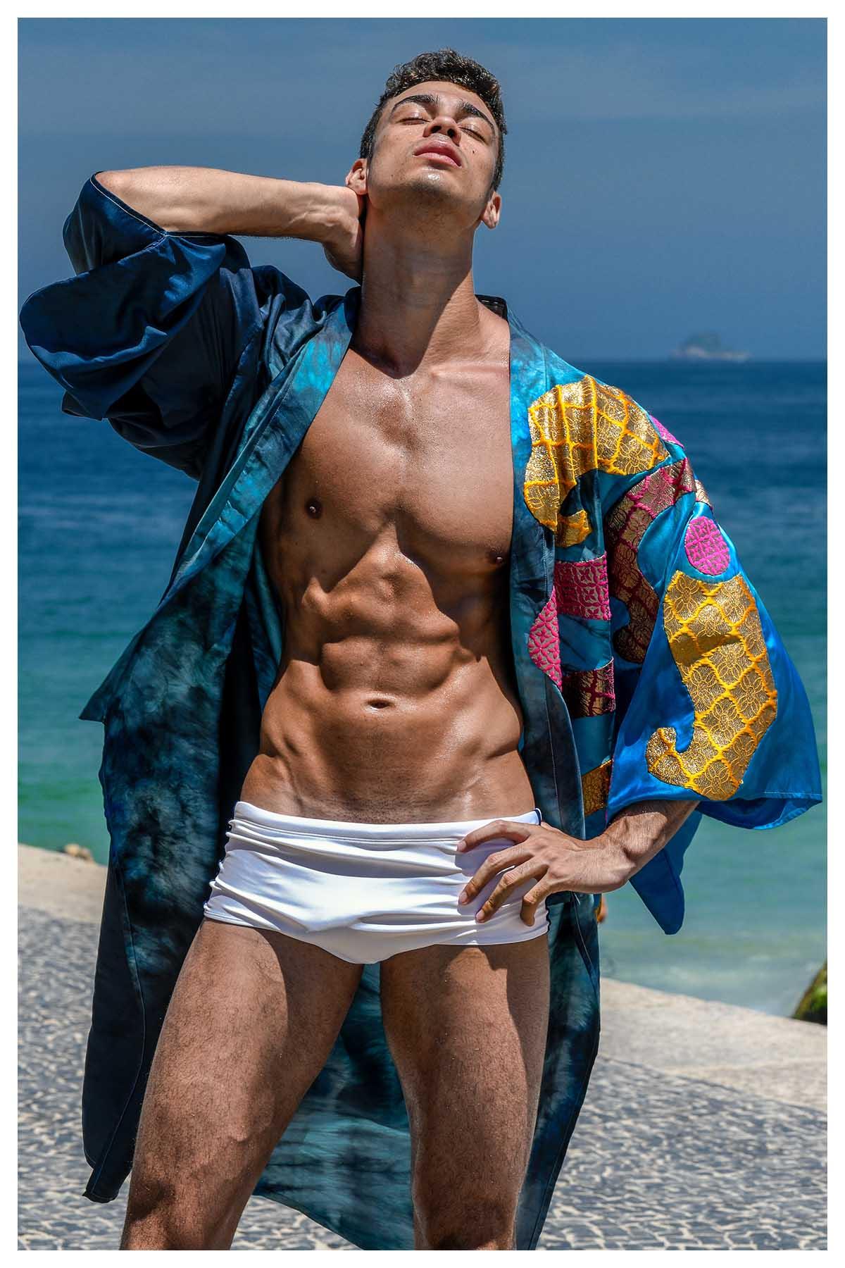 Gabriel Jayme by Wittaya Finn Sumranklang for Brazilian Male Model