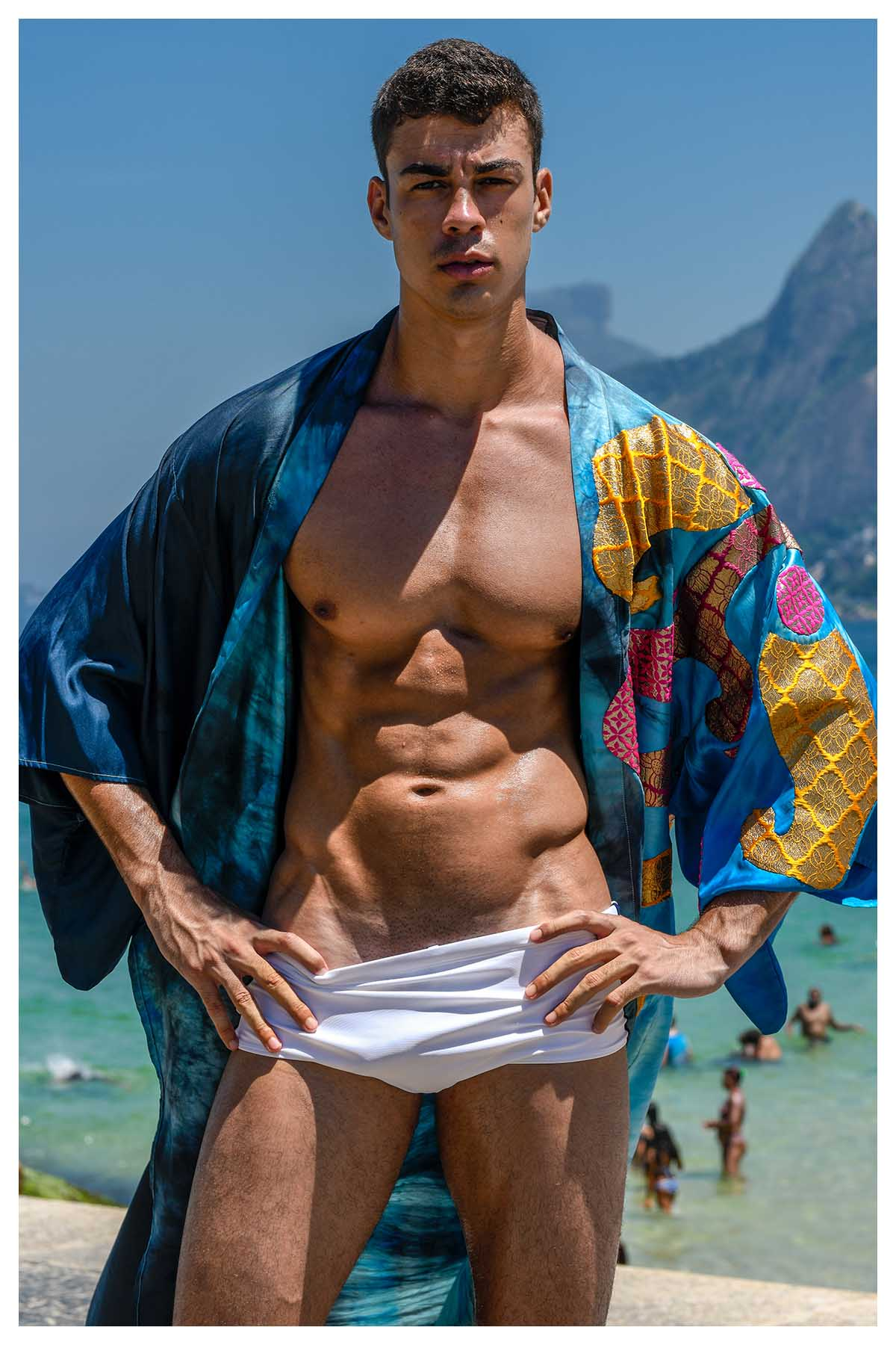Gabriel Jayme by Wittaya Finn Sumranklang for Brazilian Male Model