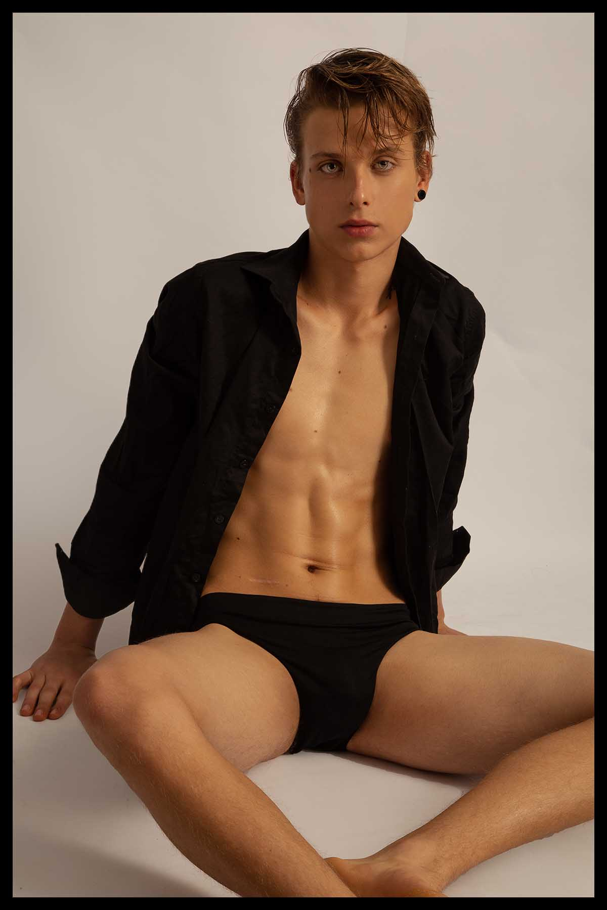 Emiliano Eich by Bruno Barreto for Brazilian Male Model