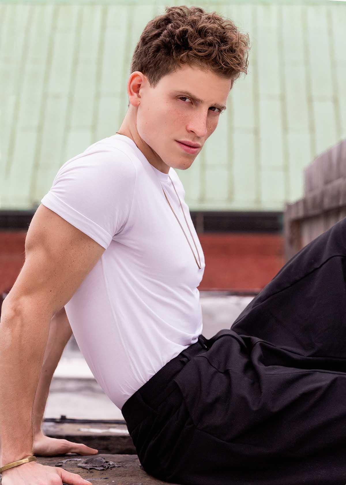 Giulio Melchiori by Nico Gonzalez for Brazilian Male Model