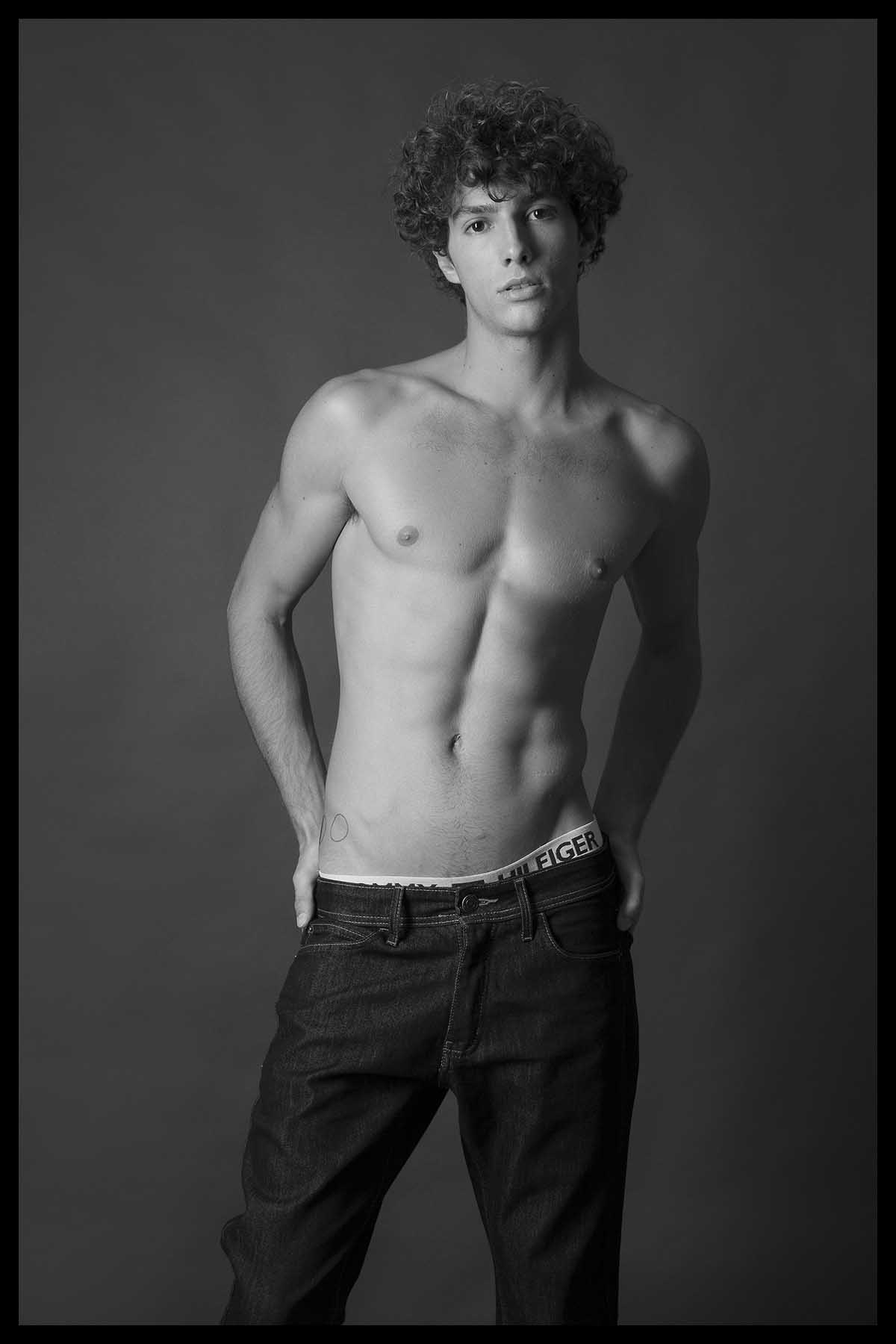 Luca Sabino by Fernanda Mac for Brazilian Male Model