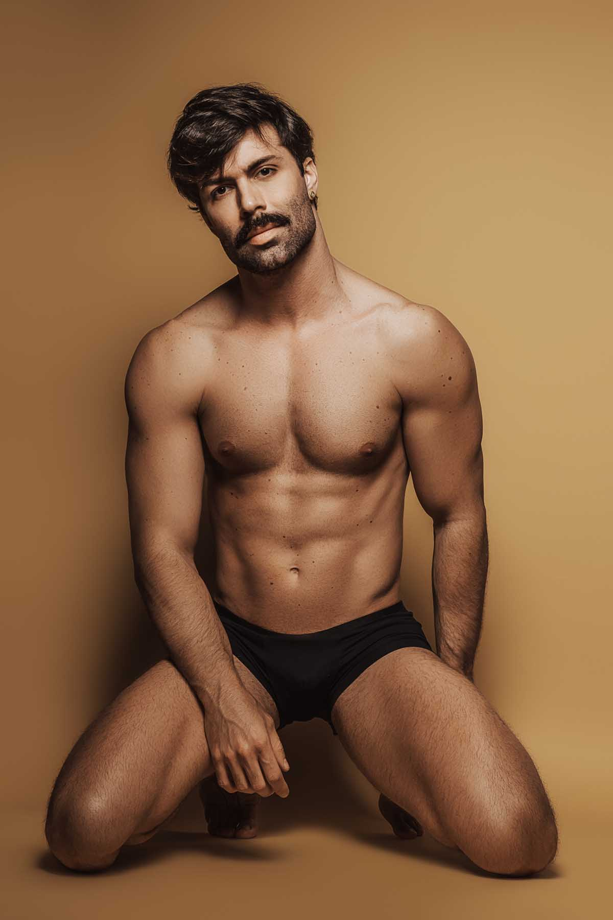 Guilherme Acrizio by Courtney Charles for Brazilian Male Model
