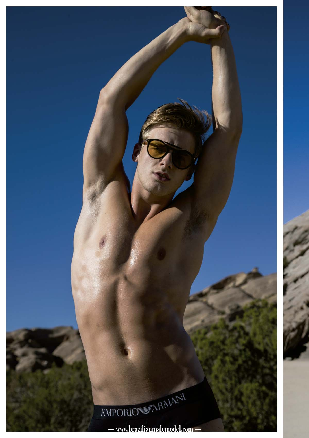 Renan Corbani by Luiz Moreira for Brazilian Male Model Magazine #2