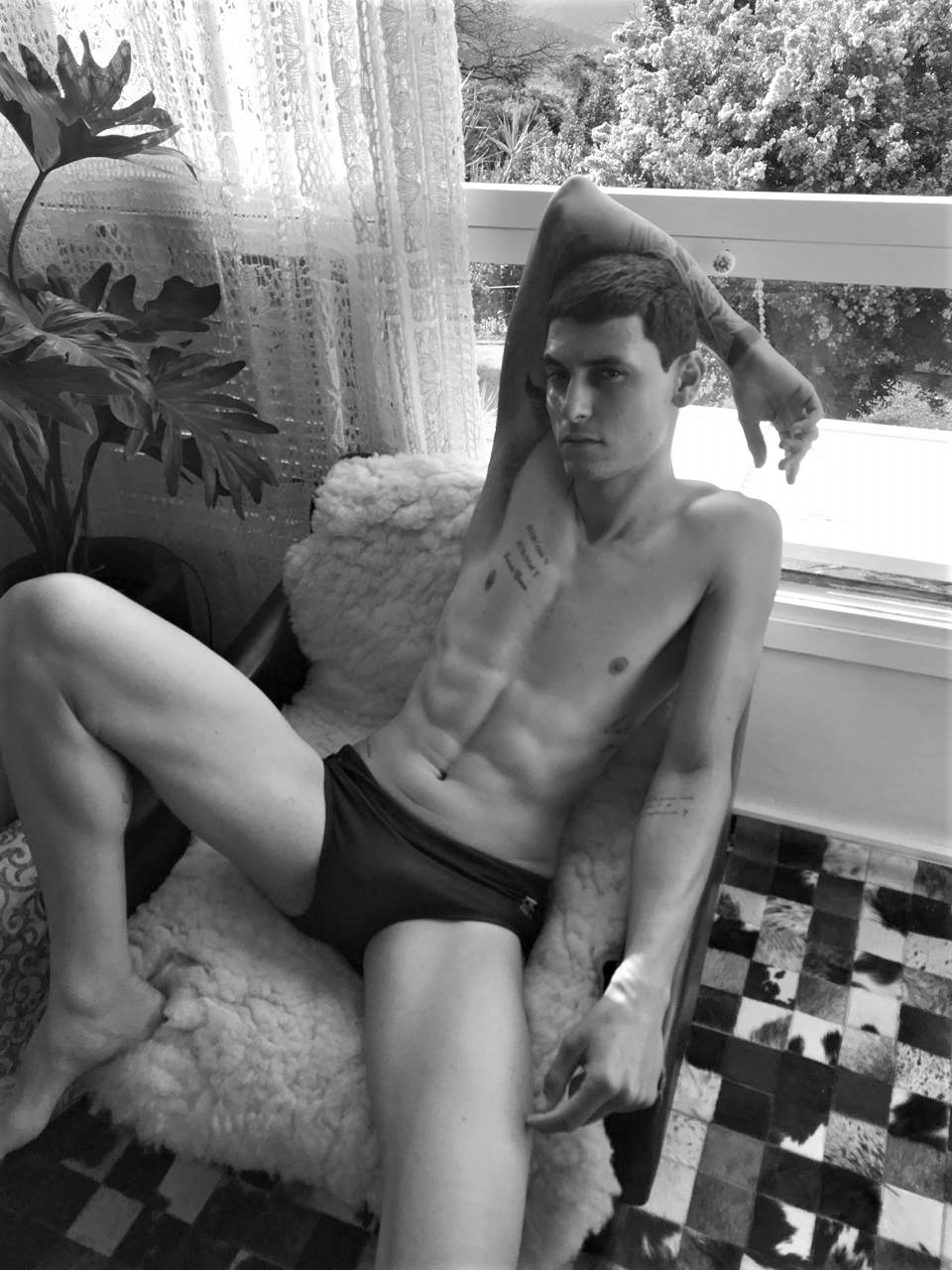 Alan Oliver by Sergio Mattos for Brazilian Male Model