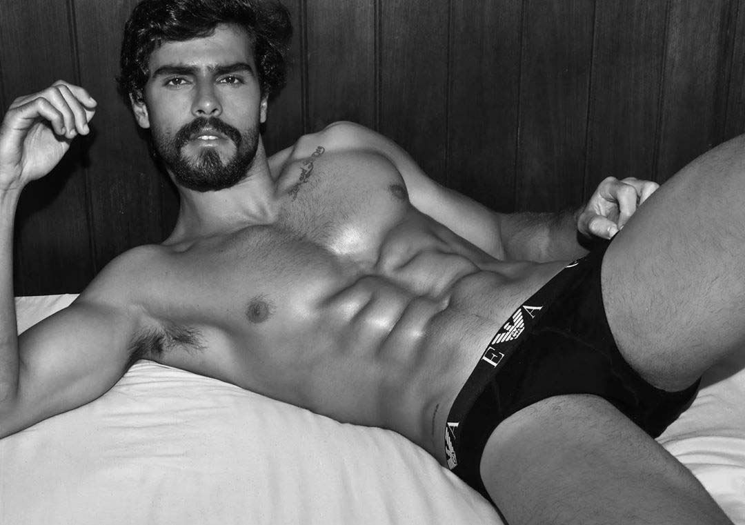 Bruno Krause by Filbert Kung for Brazilian Male Model