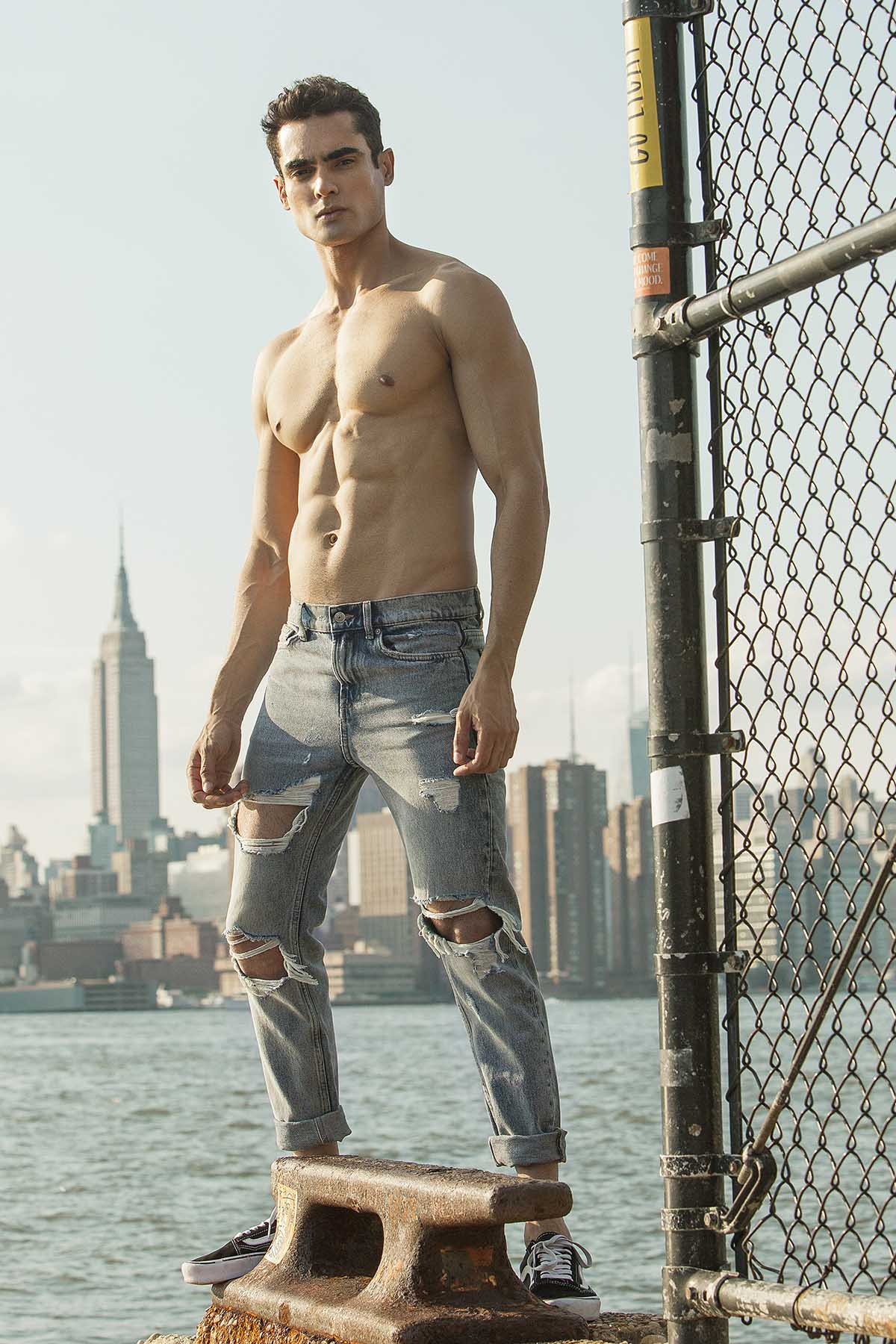 Felipe Santos by Giulio Cunico for Brazilian Male Model