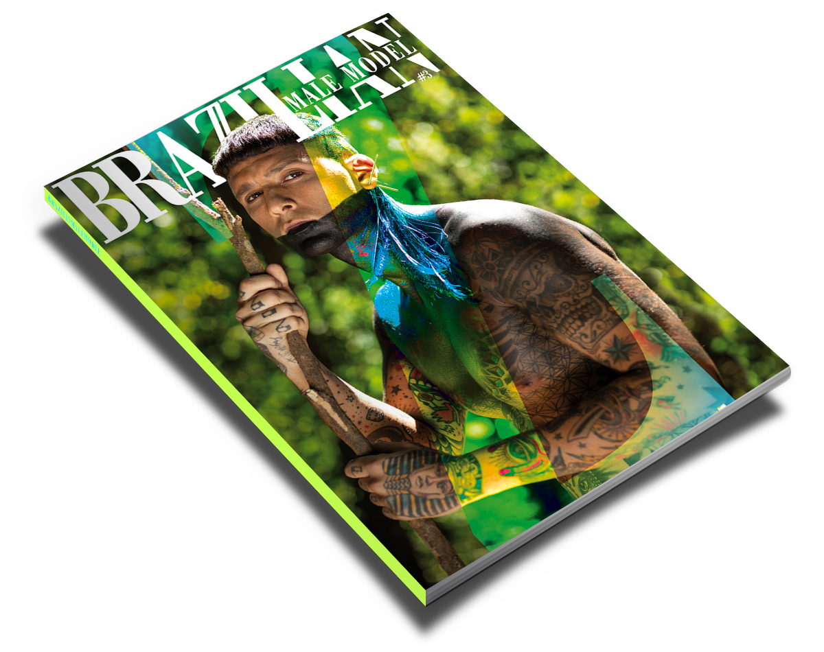 issue #3 brazilian male model magazine