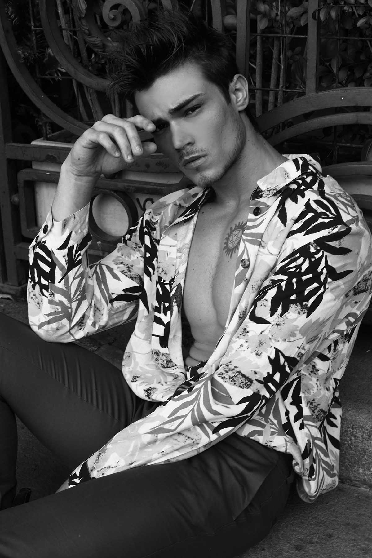 Bruno Santana by Rodrigo Marconatto for Brazilian Male Model