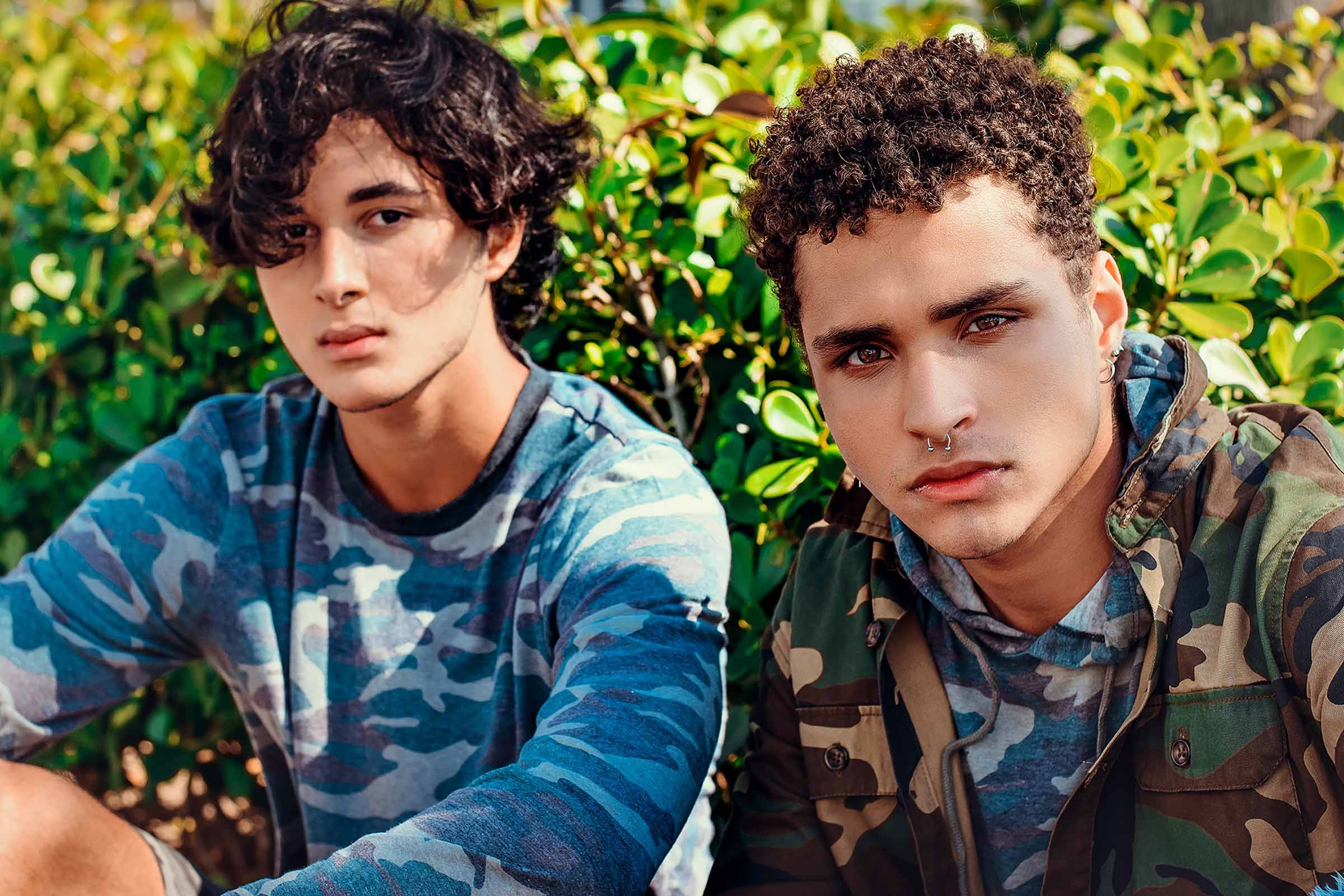 Juan Caldeira and Júlio Alves by Bruno Chagas