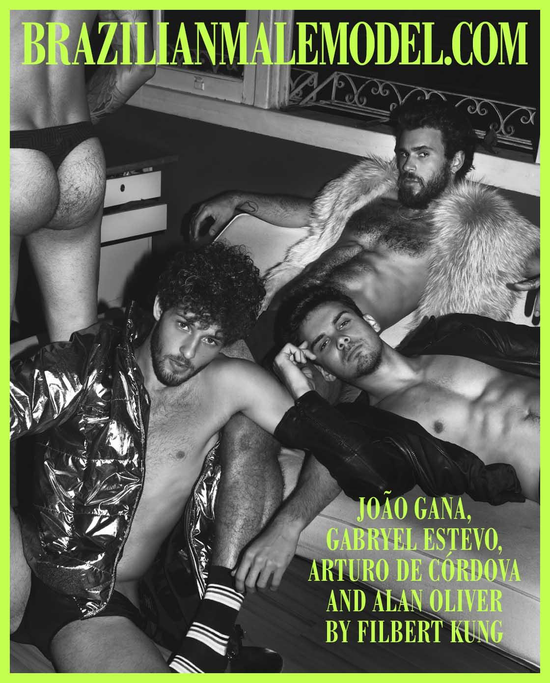 João Gana, Gabryel Estevo, Arturo de Córdova and Alan Oliver by Filbert Kung