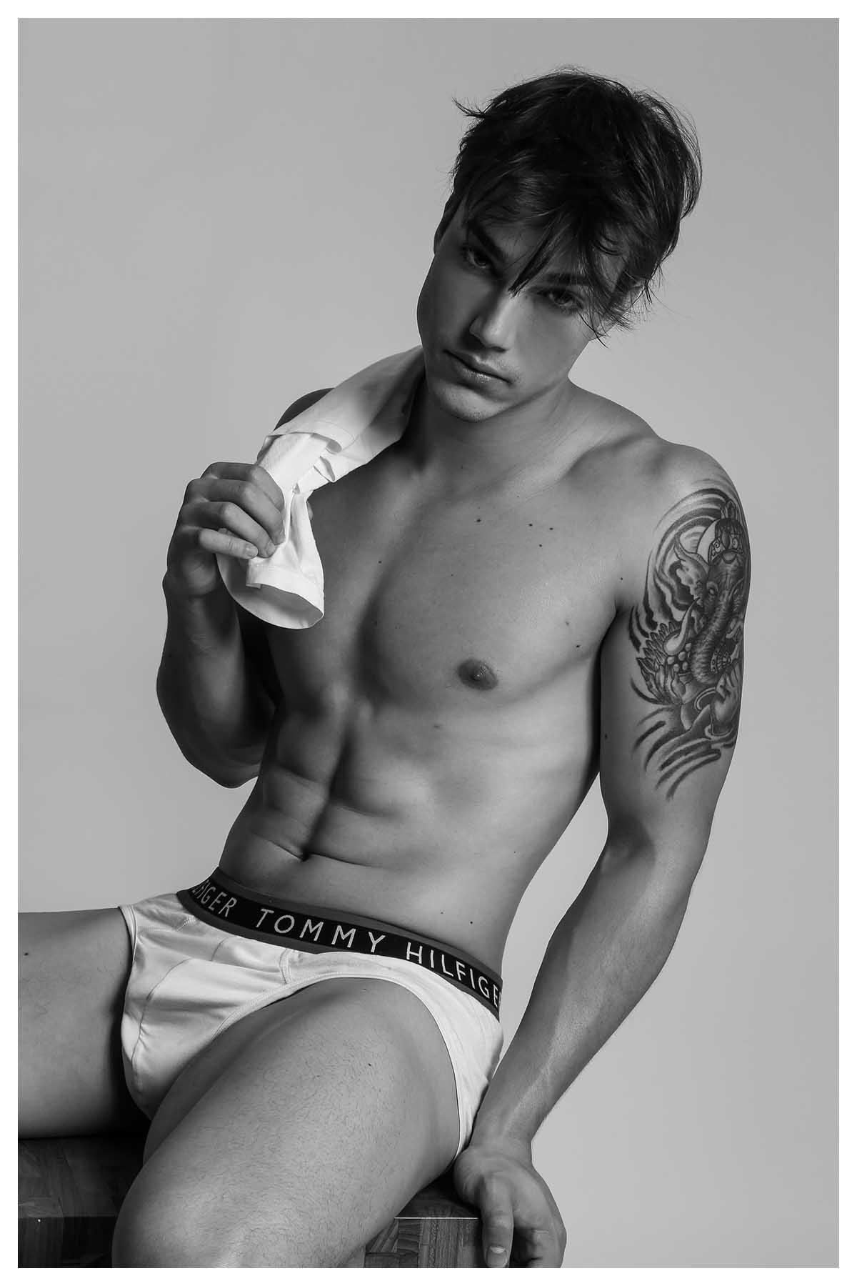 Marcos Borges by Bruno Barreto for Brazilian Male Model