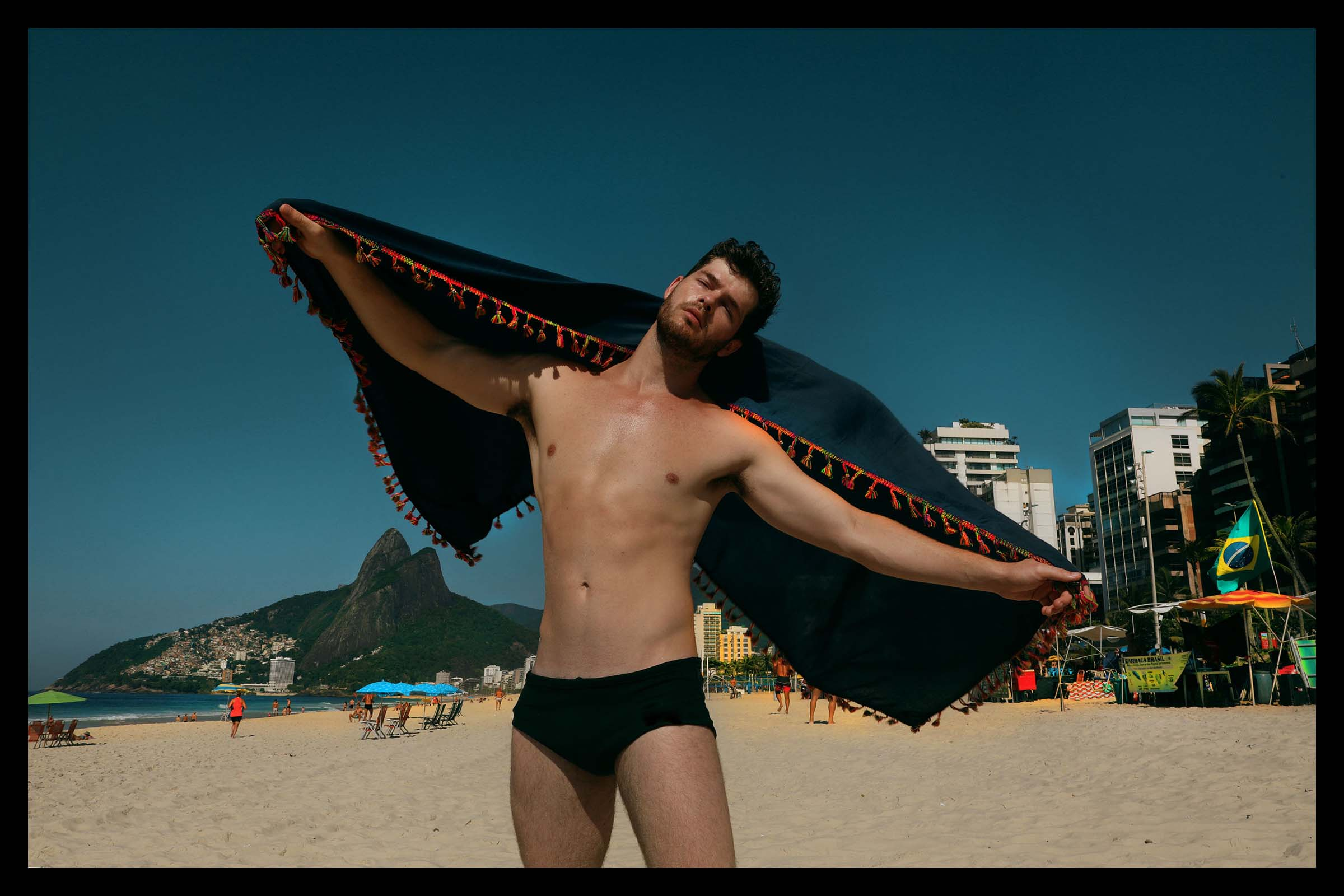 Miguel Bruinsma by Filber Kung for Brazilian Male Model
