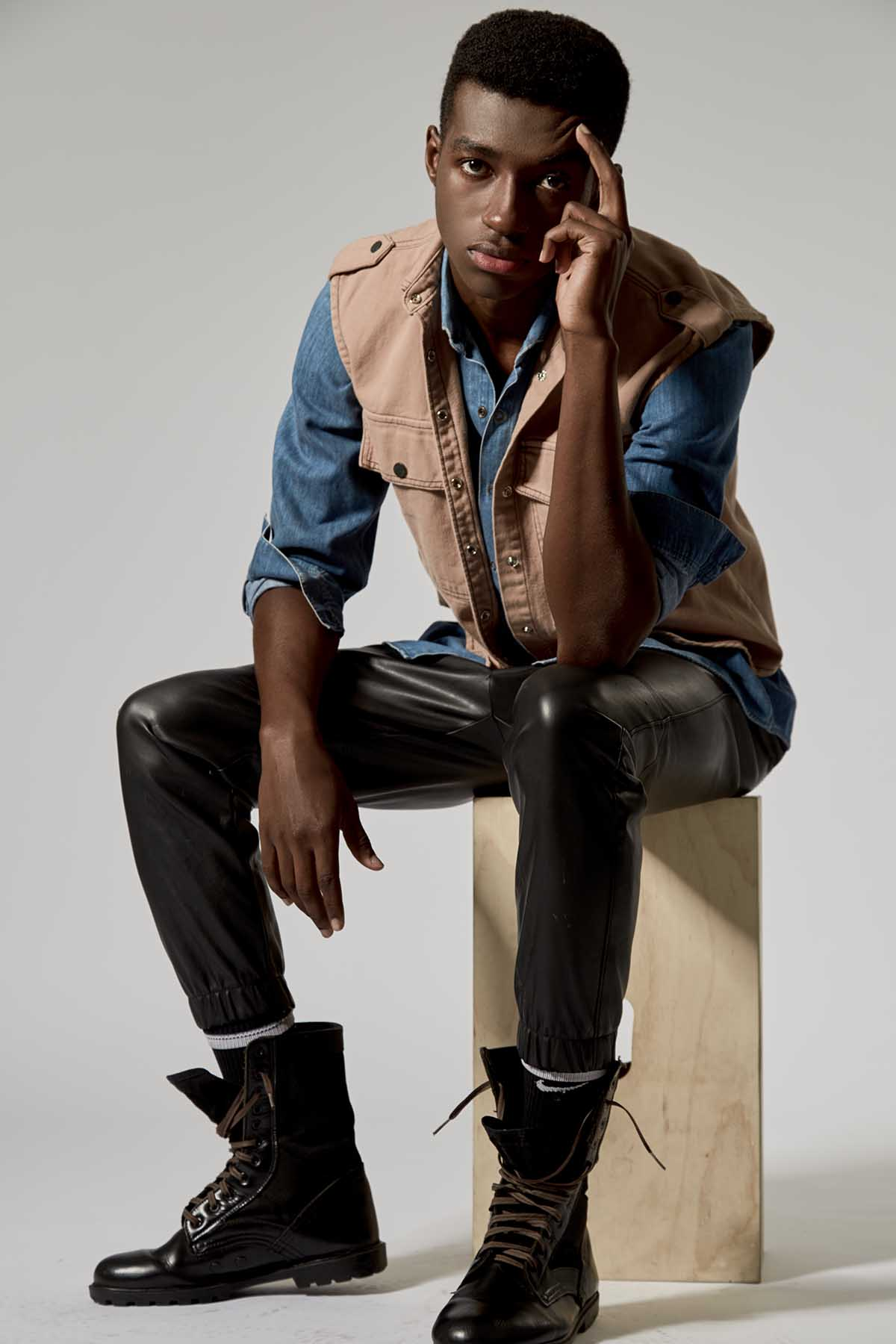 Nicolas Mawete by Jô Paiva for Brazilian Male Model