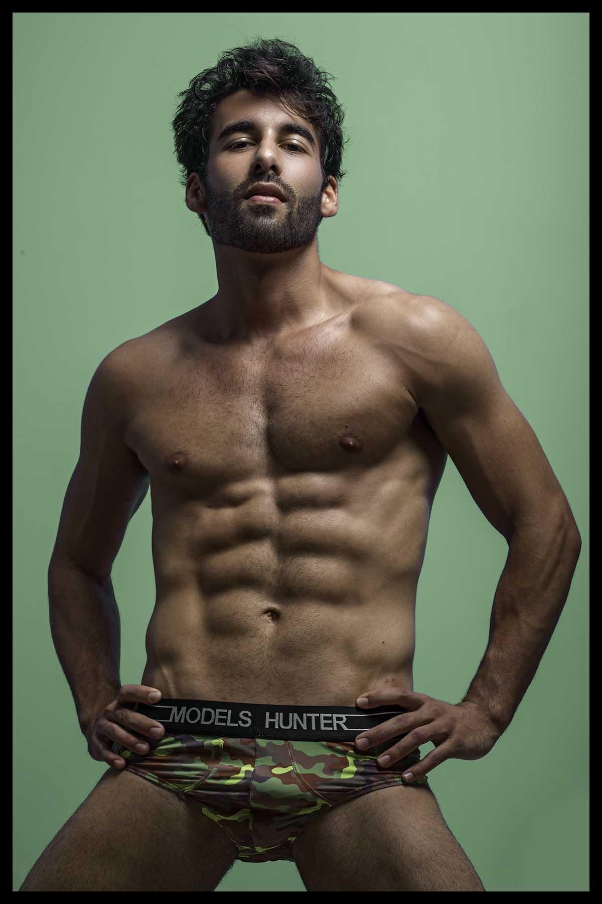 Gabriel Almeida by Ronaldo Gutierrez for Brazilian Male Model