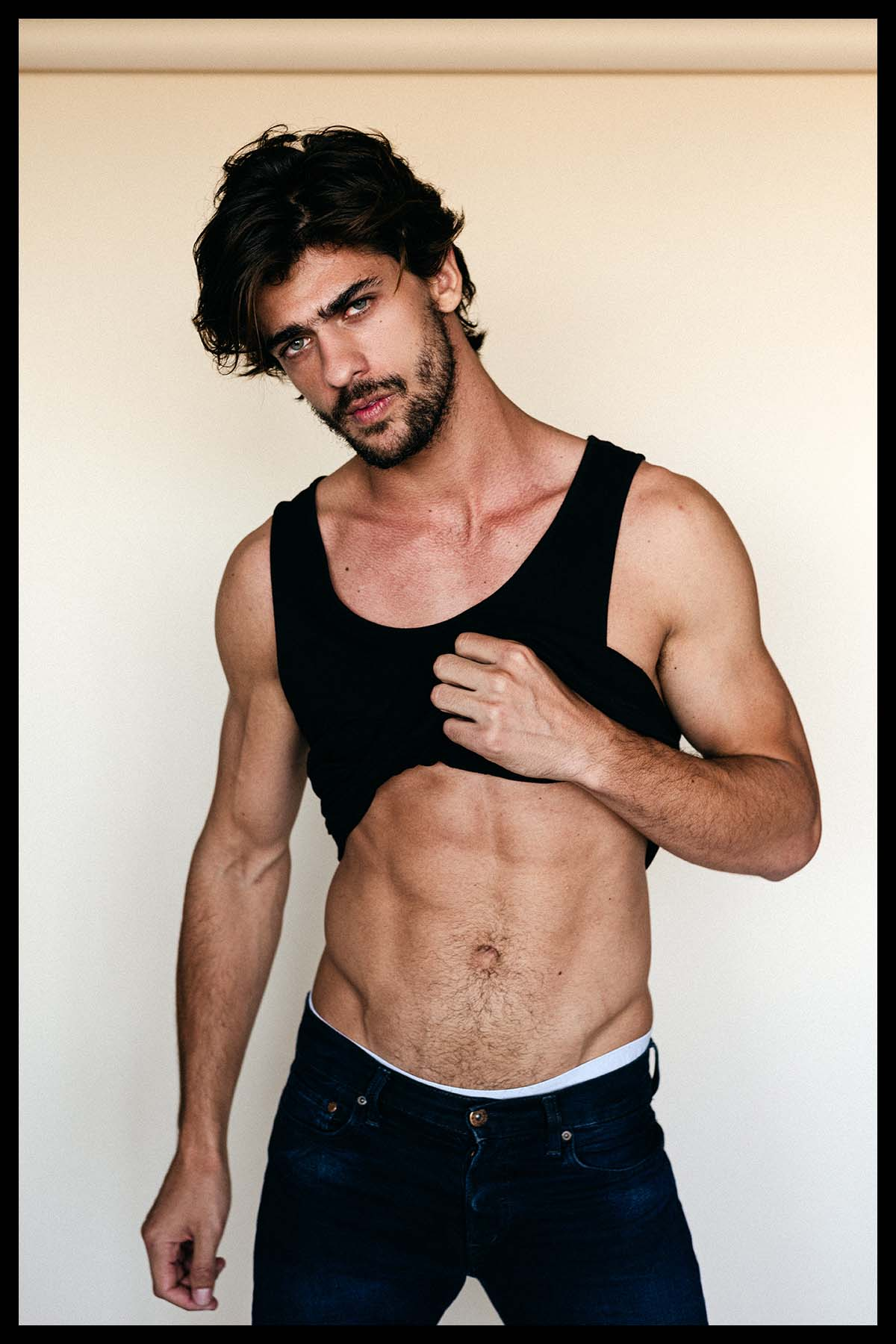 Luan Fernandes by Fidel Chung for Brazilian Male Model