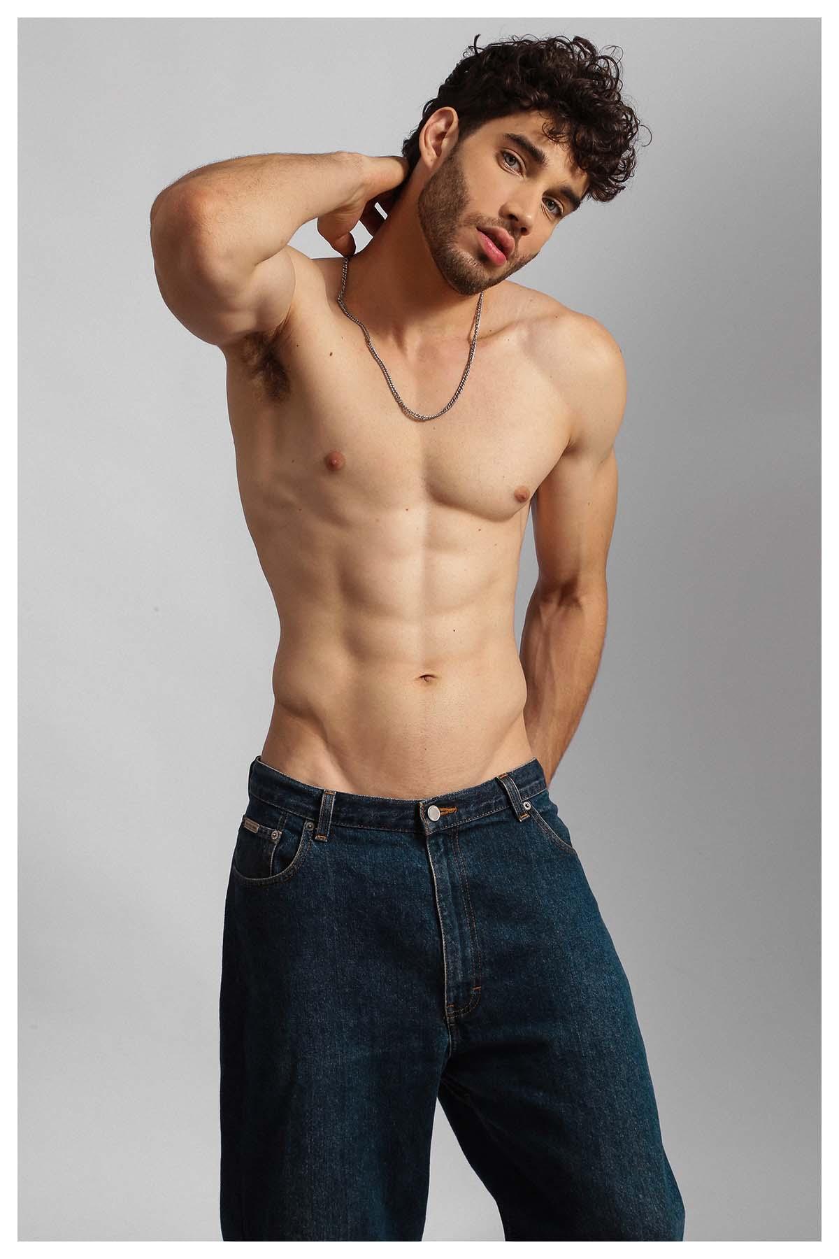 Neto Gomes by Bruno Barreto for Brazilian Male Model