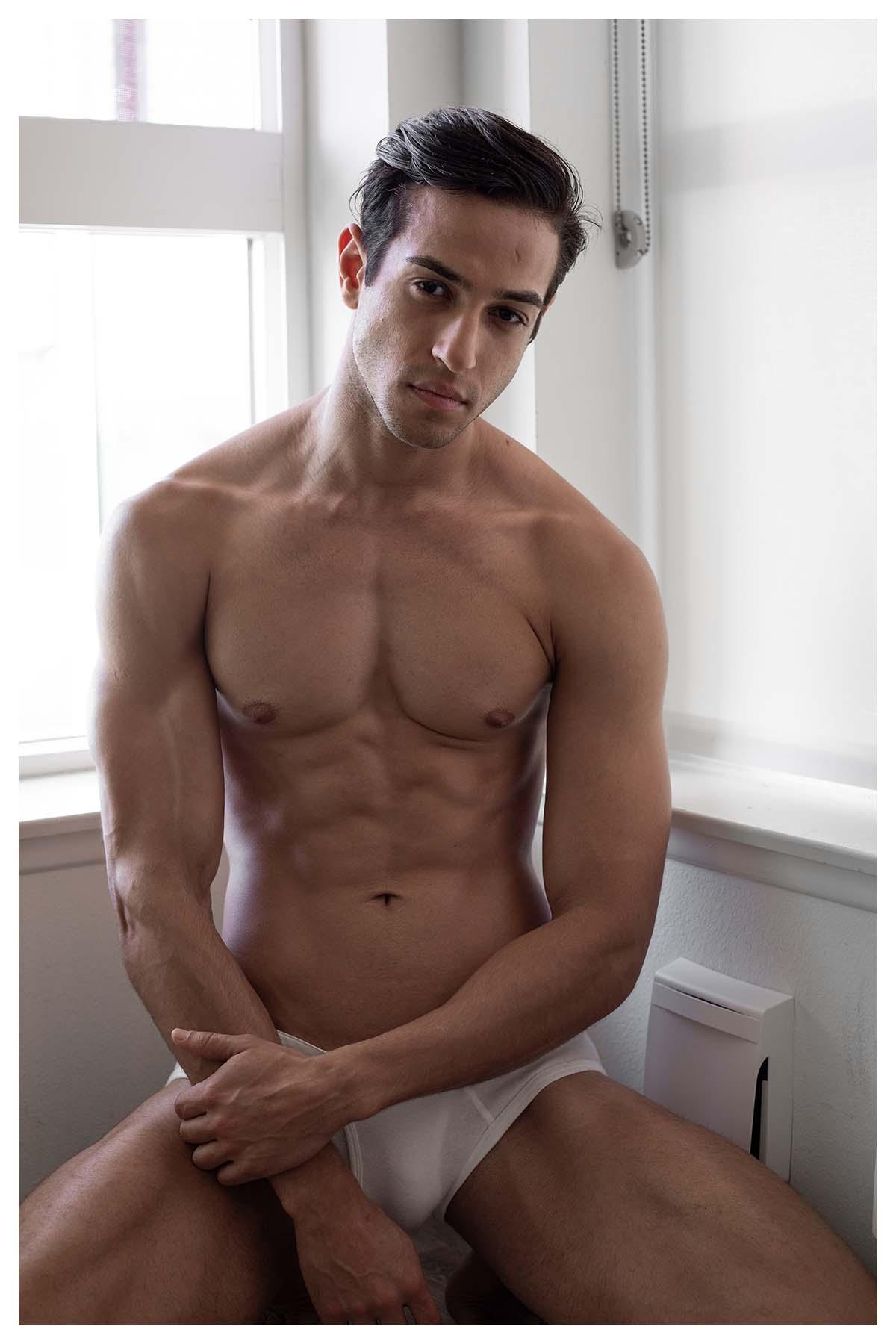 Eduardo Penteado by Leland Glauz for Brazilian Male Model