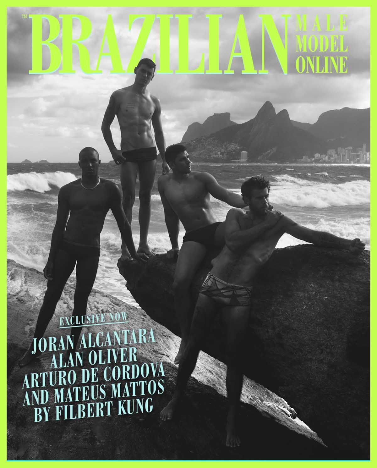Joran Alcantara, Alan Oliver, Arturo de Cordova and Mateus Mattos by Filbert Kung
