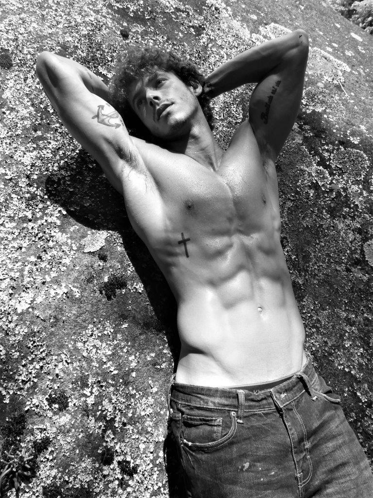 Luiz Felipe Altenfelder by Sergio Mattos for Brazilian Male Model