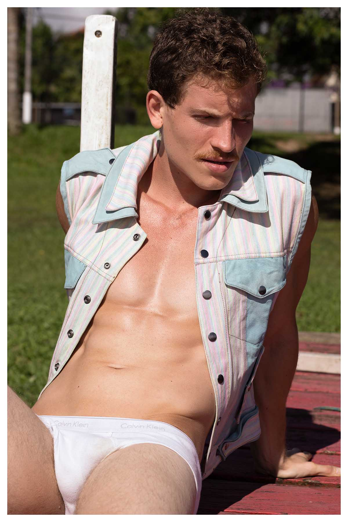 Giulio Melchiori by Anderson Silva with Victor Belchior for Brazilian Male Model