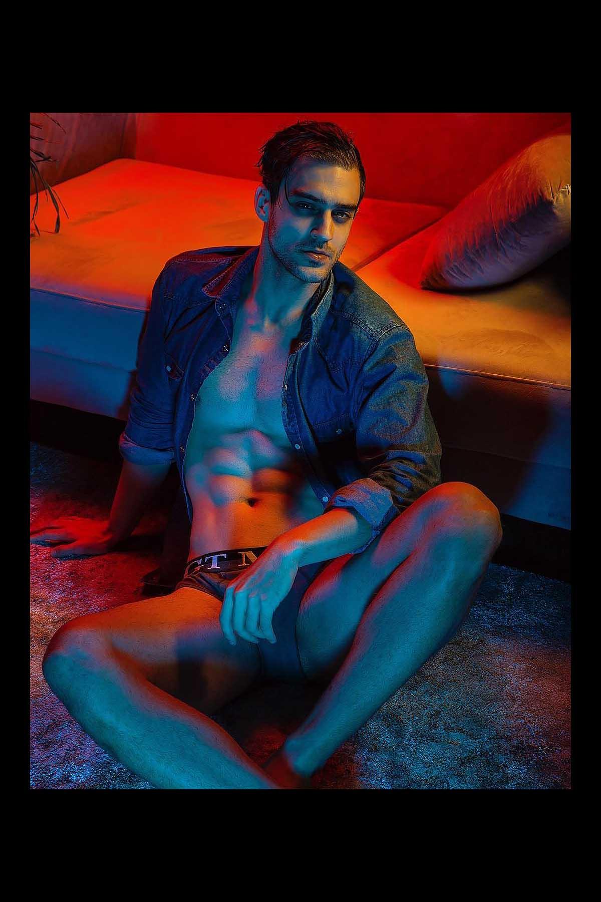 Matheus Riehl by Alejandro Salinas for Brazilian Male Model