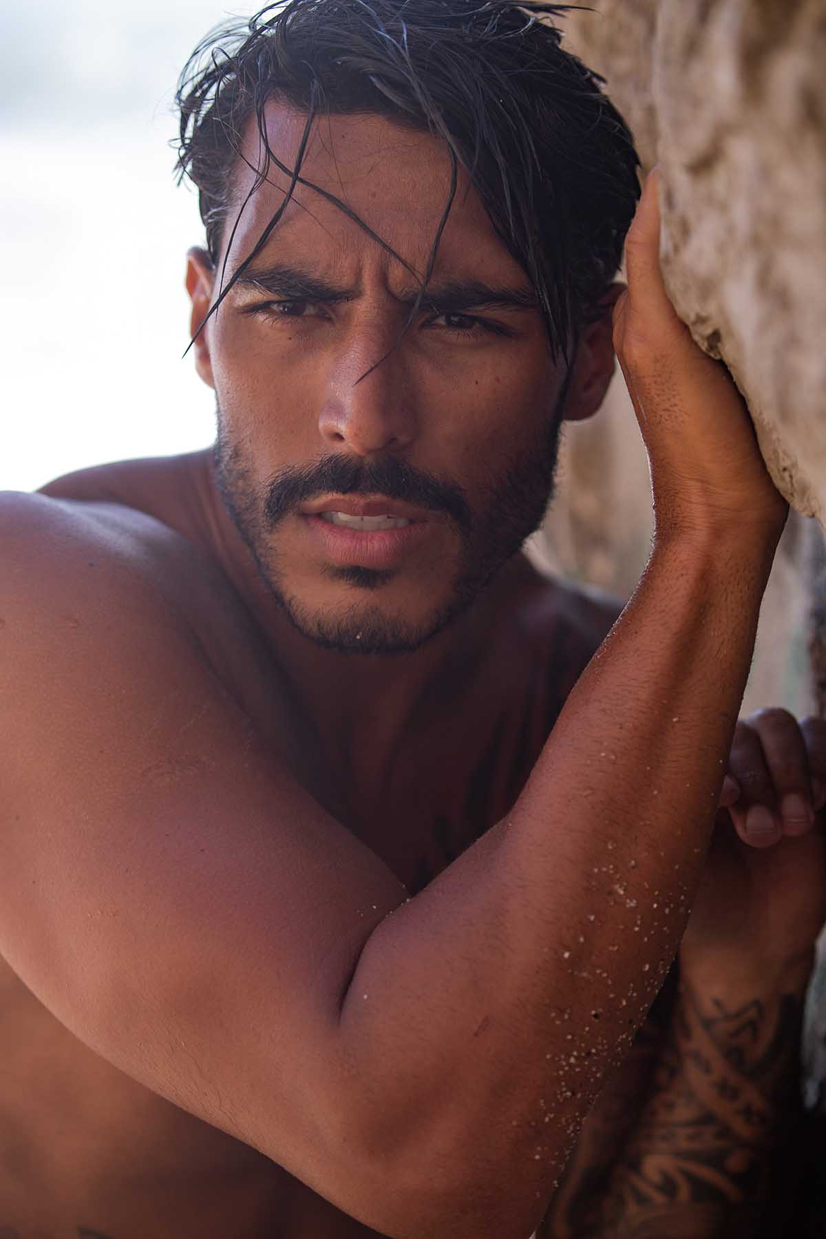 Paulo Philippe by Ruben Branches for Brazilian Male Model
