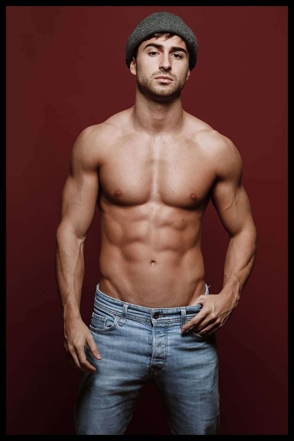 Valter Silva by David Velez for Brazilian Male Model