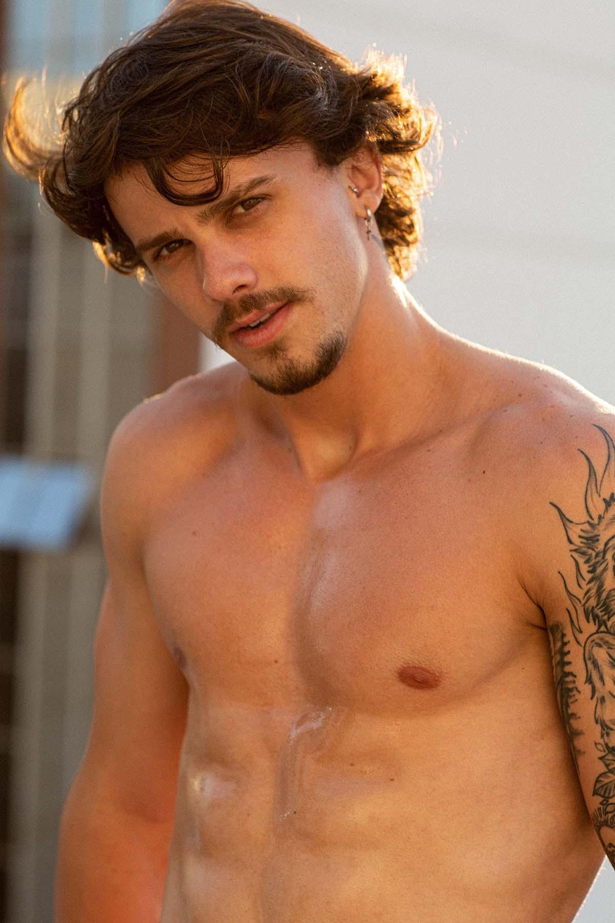 Vitor Lacerda by Felipe Pilotto for Brazilian Male Model