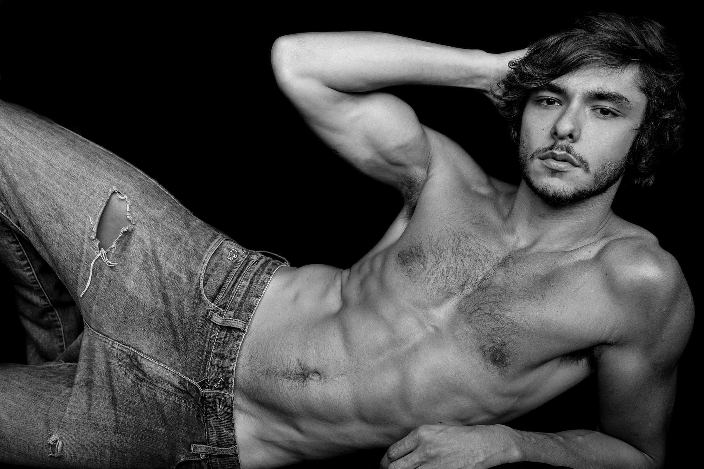André Zomkowski by Gilson de Rezende for Brazilian Male Model
