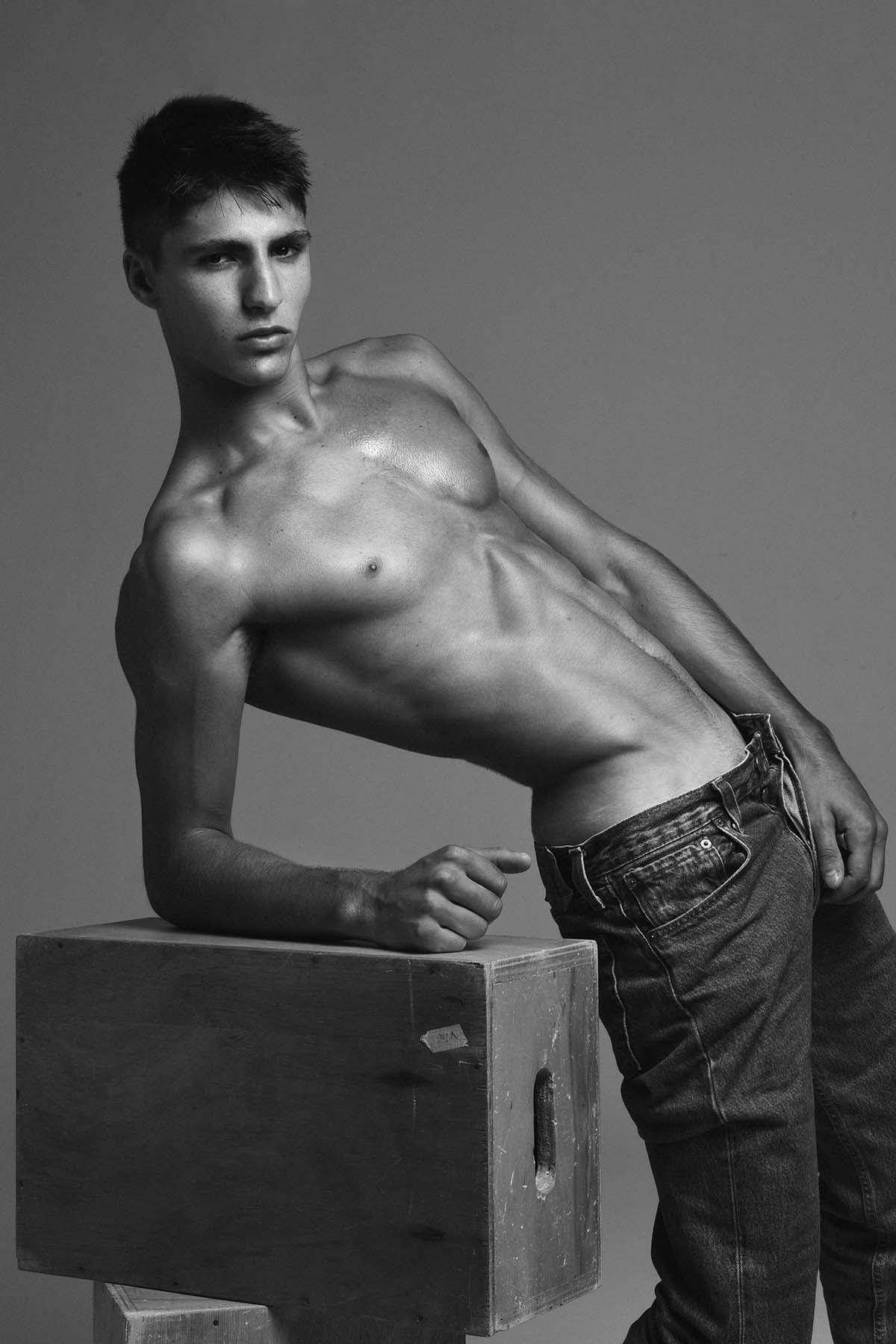 Theo Bove by Hudson Rennan for Brazilian Male Model